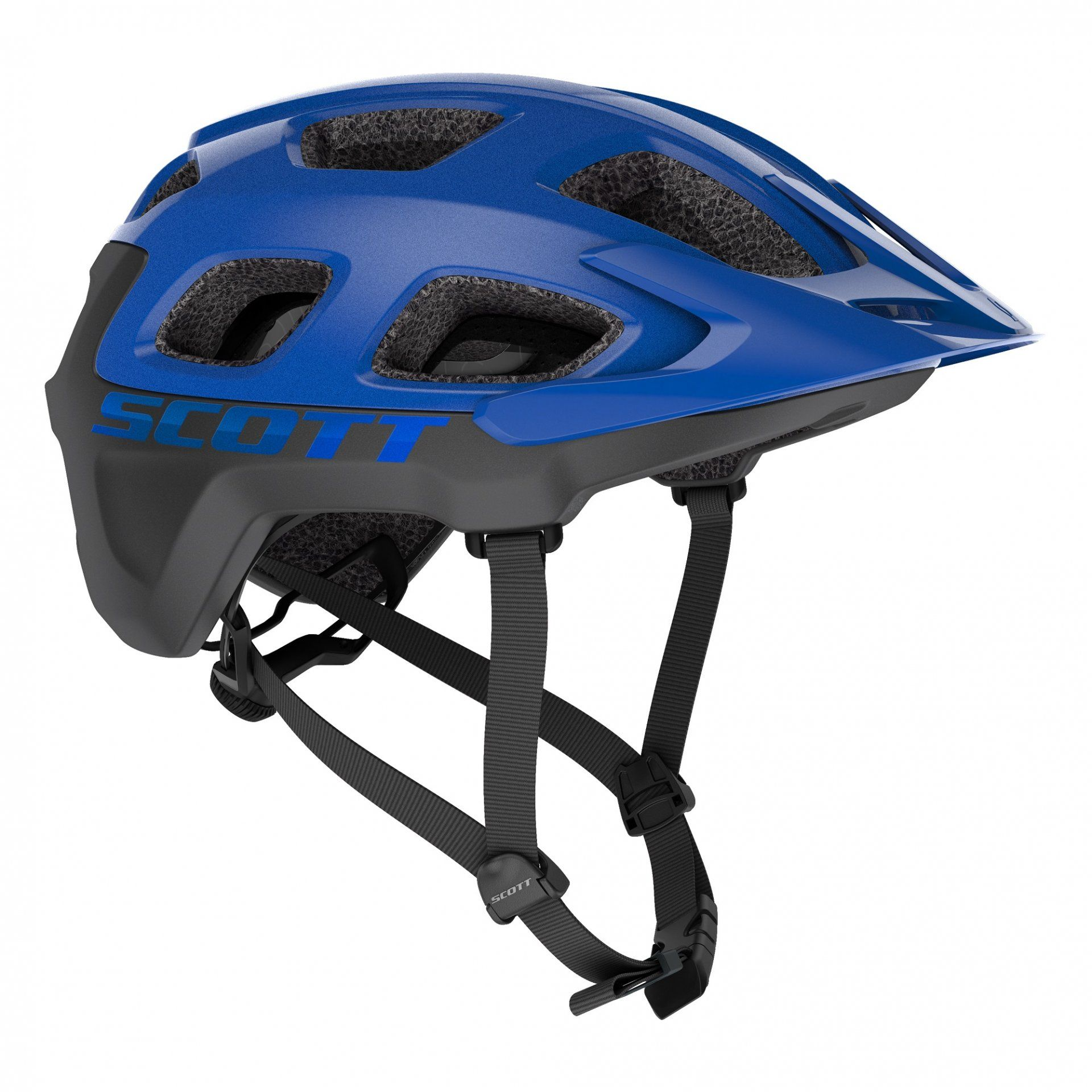 KASK ROWEROWY SCOTT VIVO PLUS 275202 SMURPLE BLUE