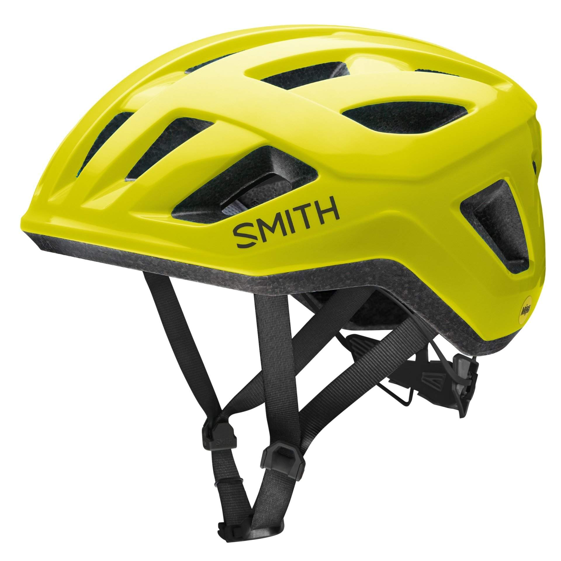 KASK ROWEROWY SMITH SIGNAL MIPS NEON YELLOW
