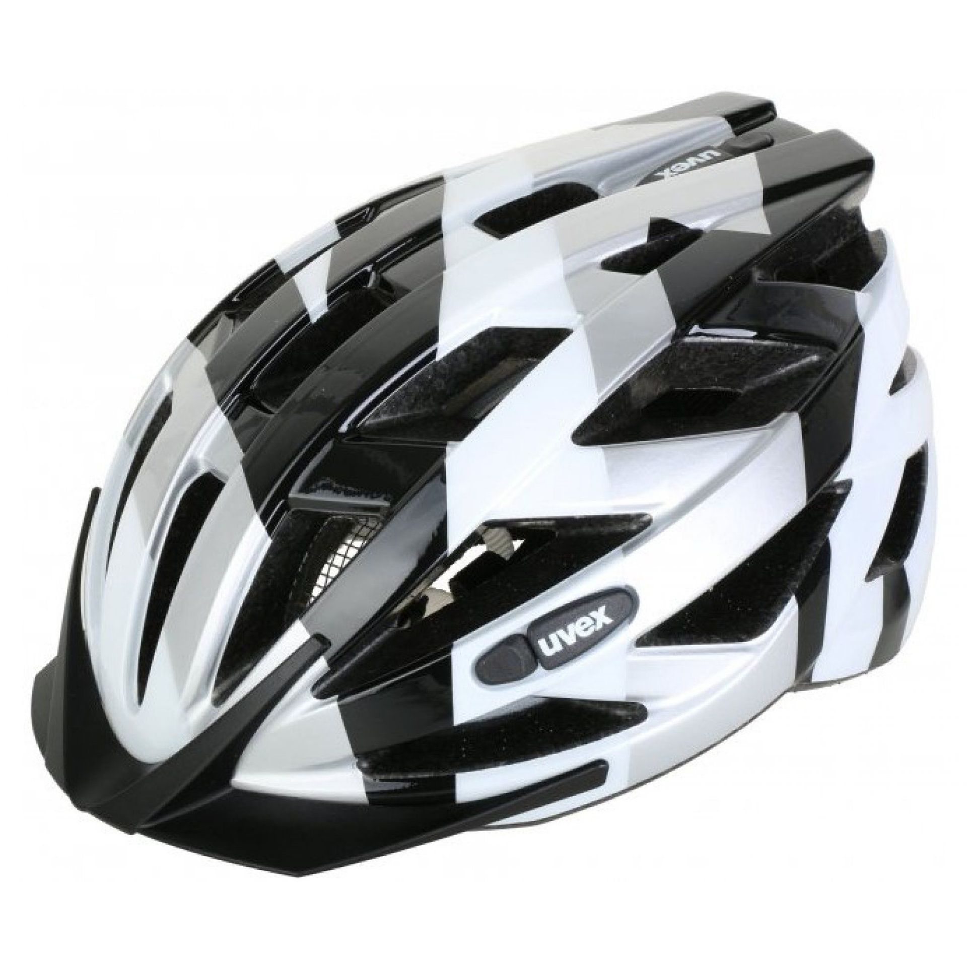 KASK ROWEROWY UVEX AIR WING 2017 BLACK WHITE I