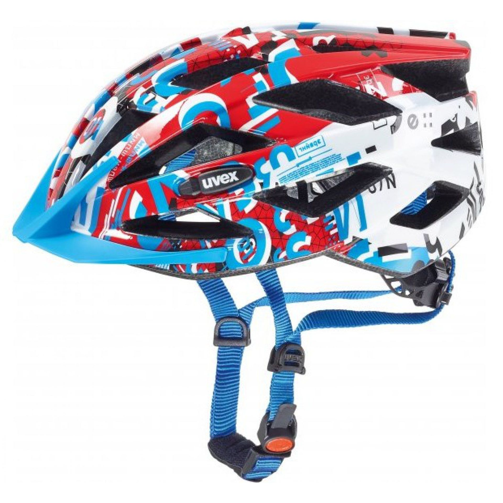 KASK ROWEROWY UVEX AIR WING WHITE RED