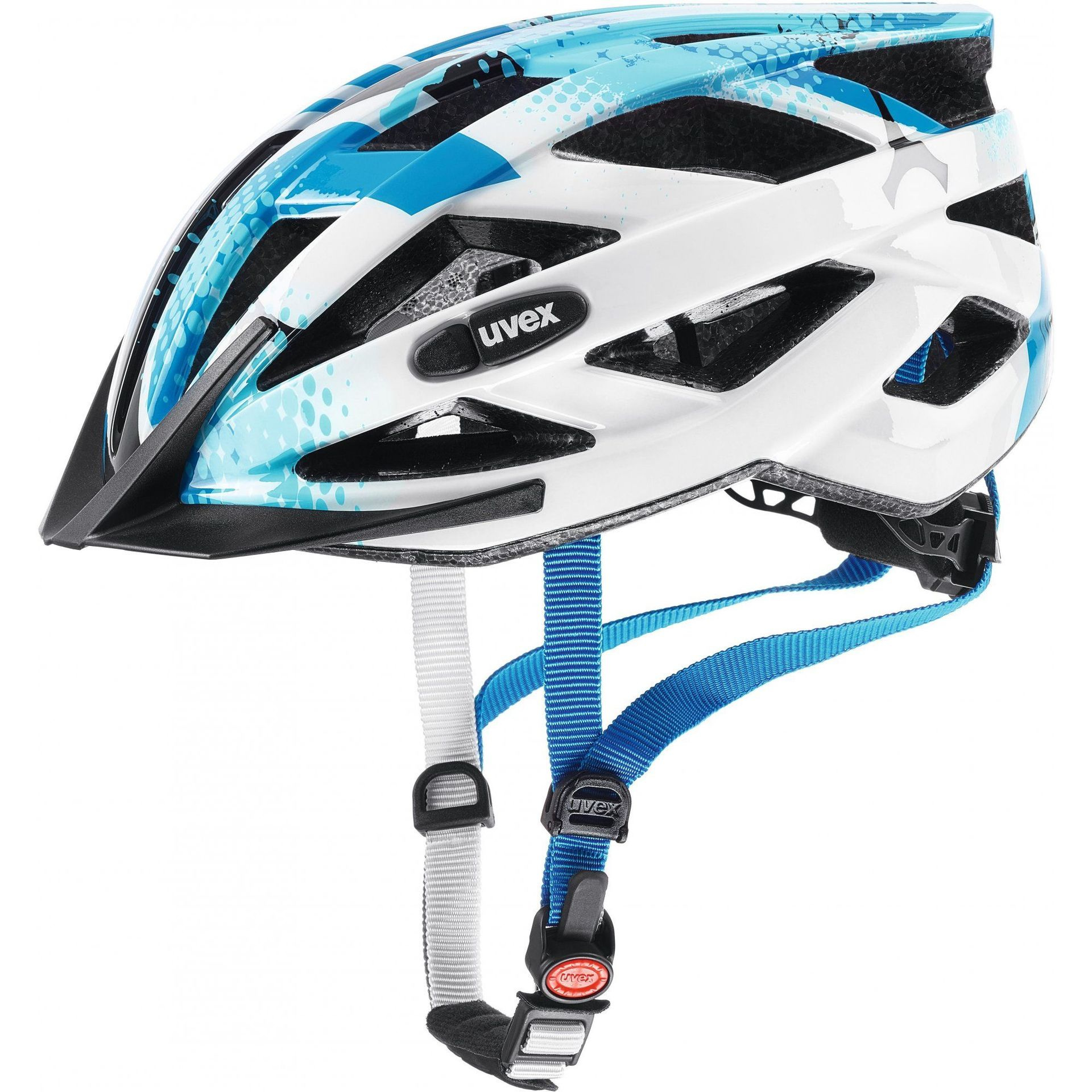 KASK ROWEROWY UVEX AIR WING BLUE WHITE