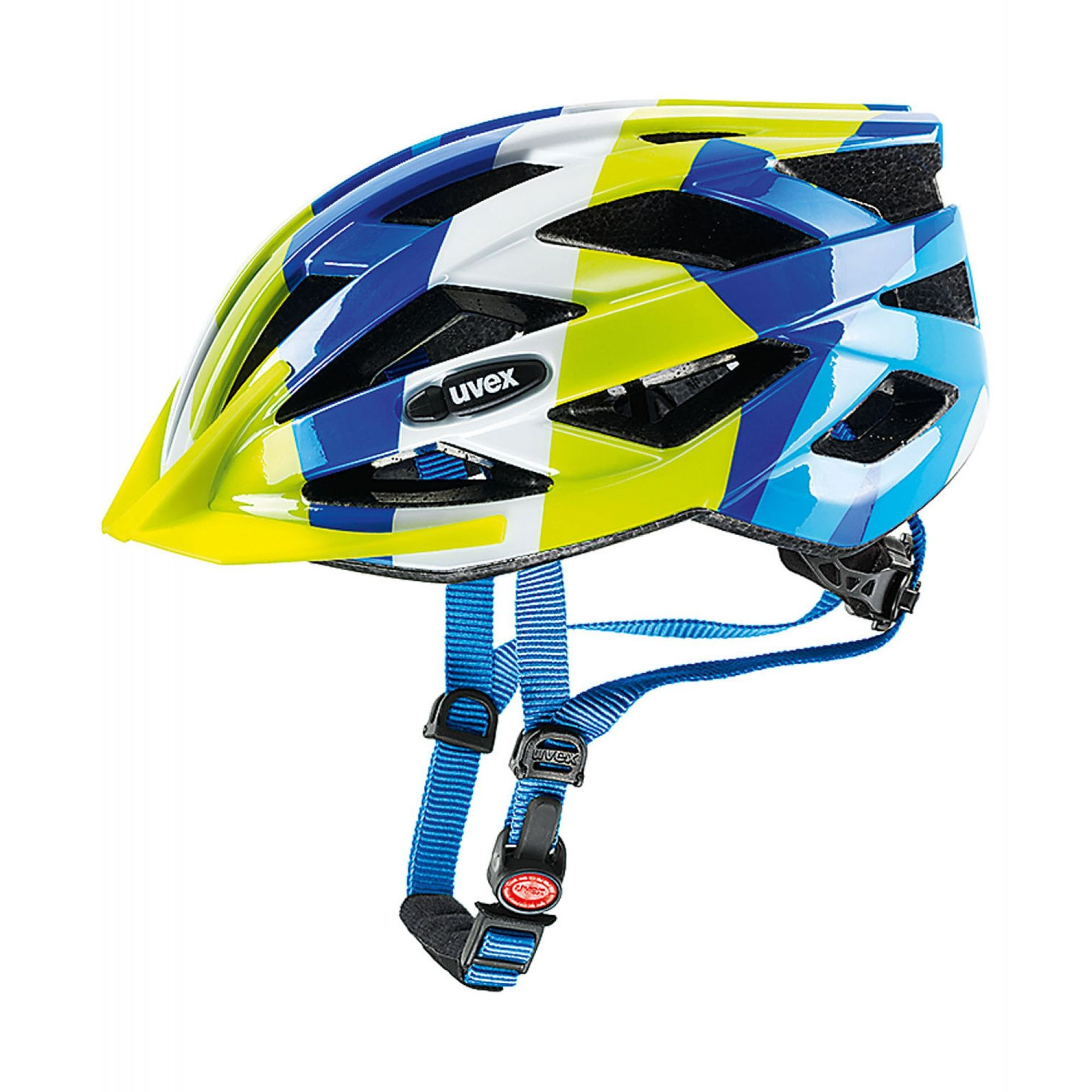 KASK ROWEROWY UVEX AIR WING BLUE|GREEN