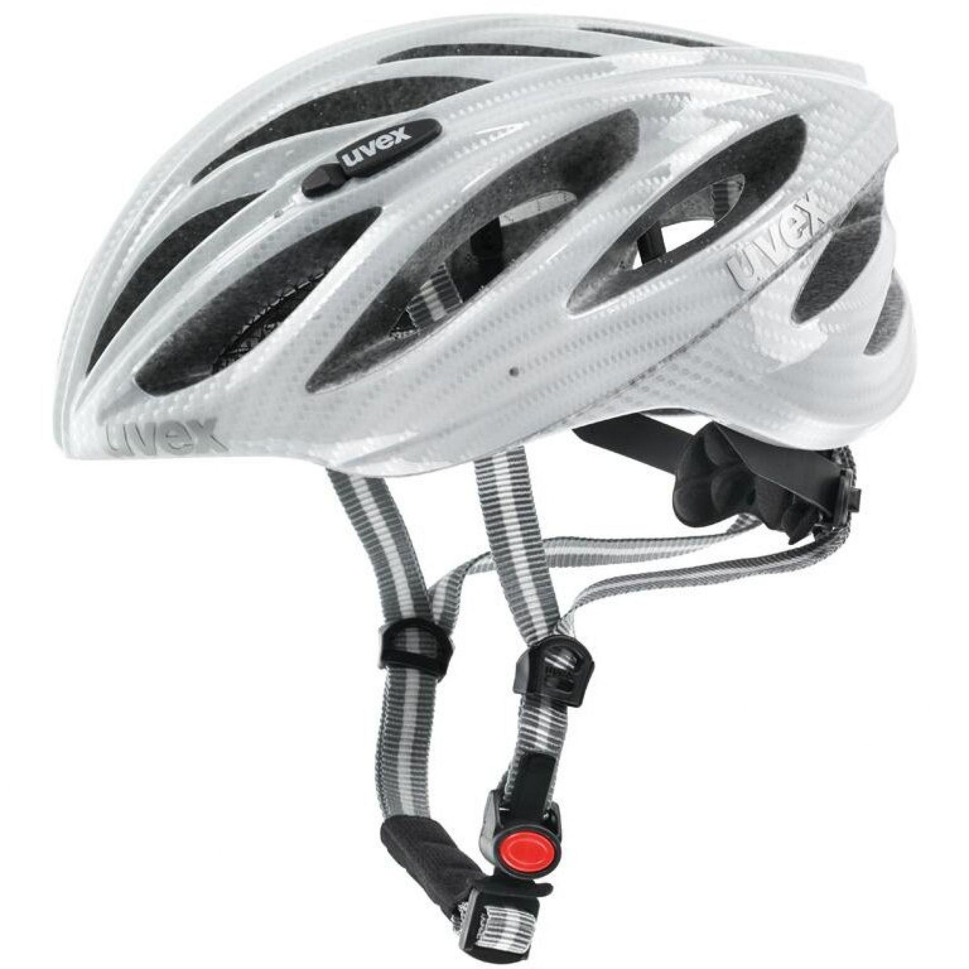 Kask rowerowy Uvex Boss Race biały