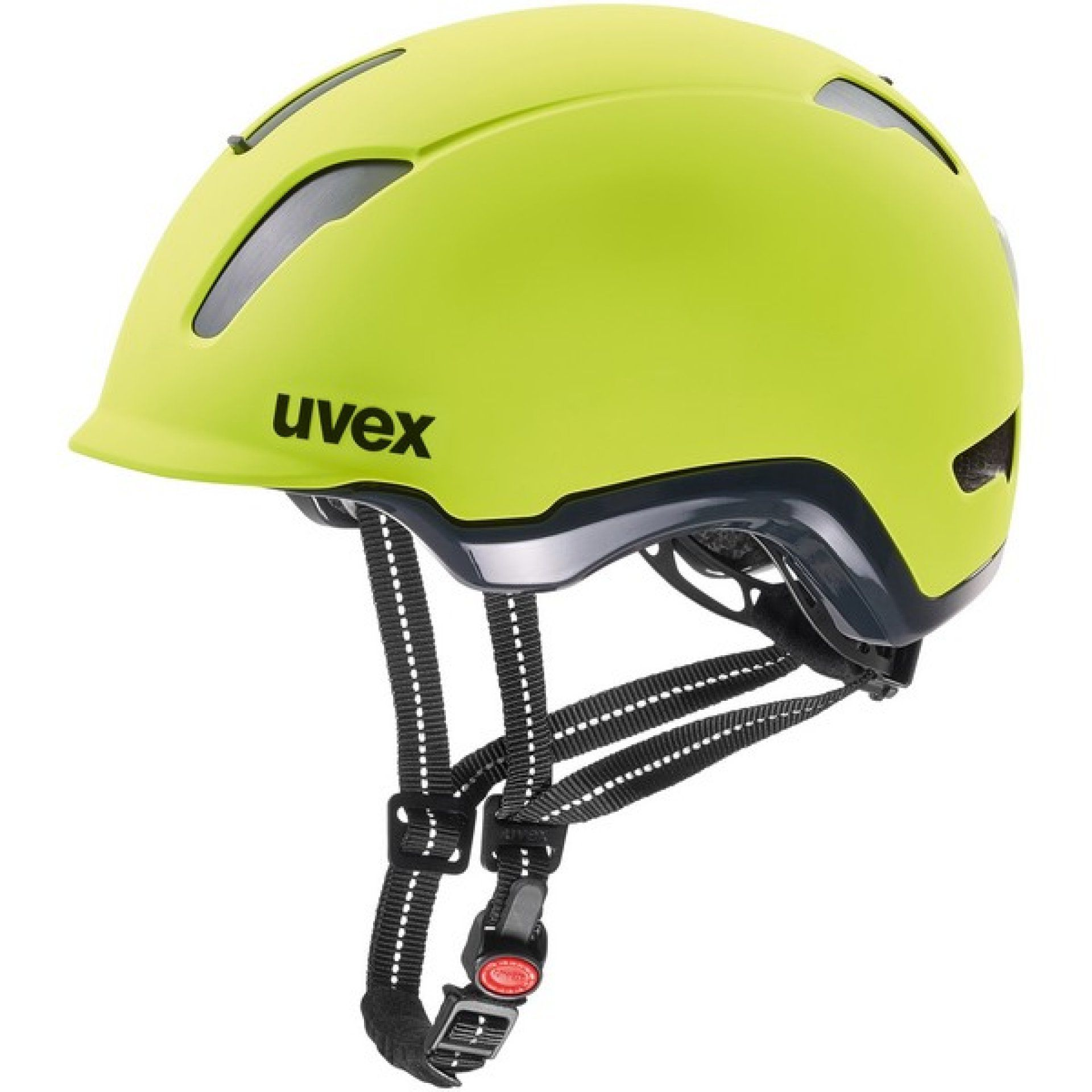 KASK ROWEROWY UVEX CITY 9 NEON YELLOW 1