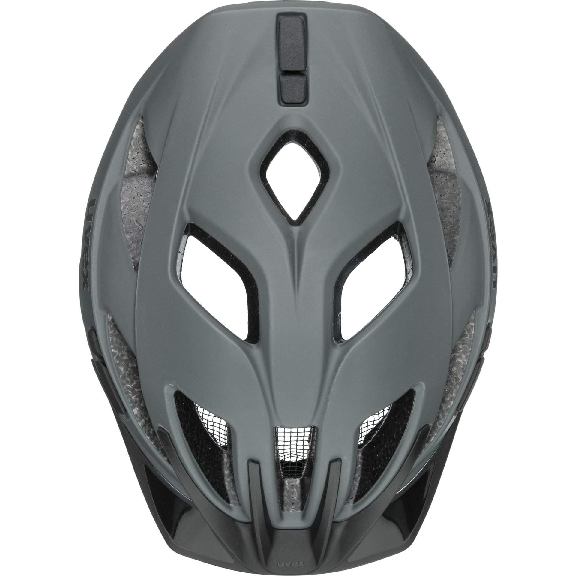 KASK ROWEROWY UVEX CITY ACTIVE 41|0|428|08 ANTHRAZIT|LIME MAT Z GÓRY