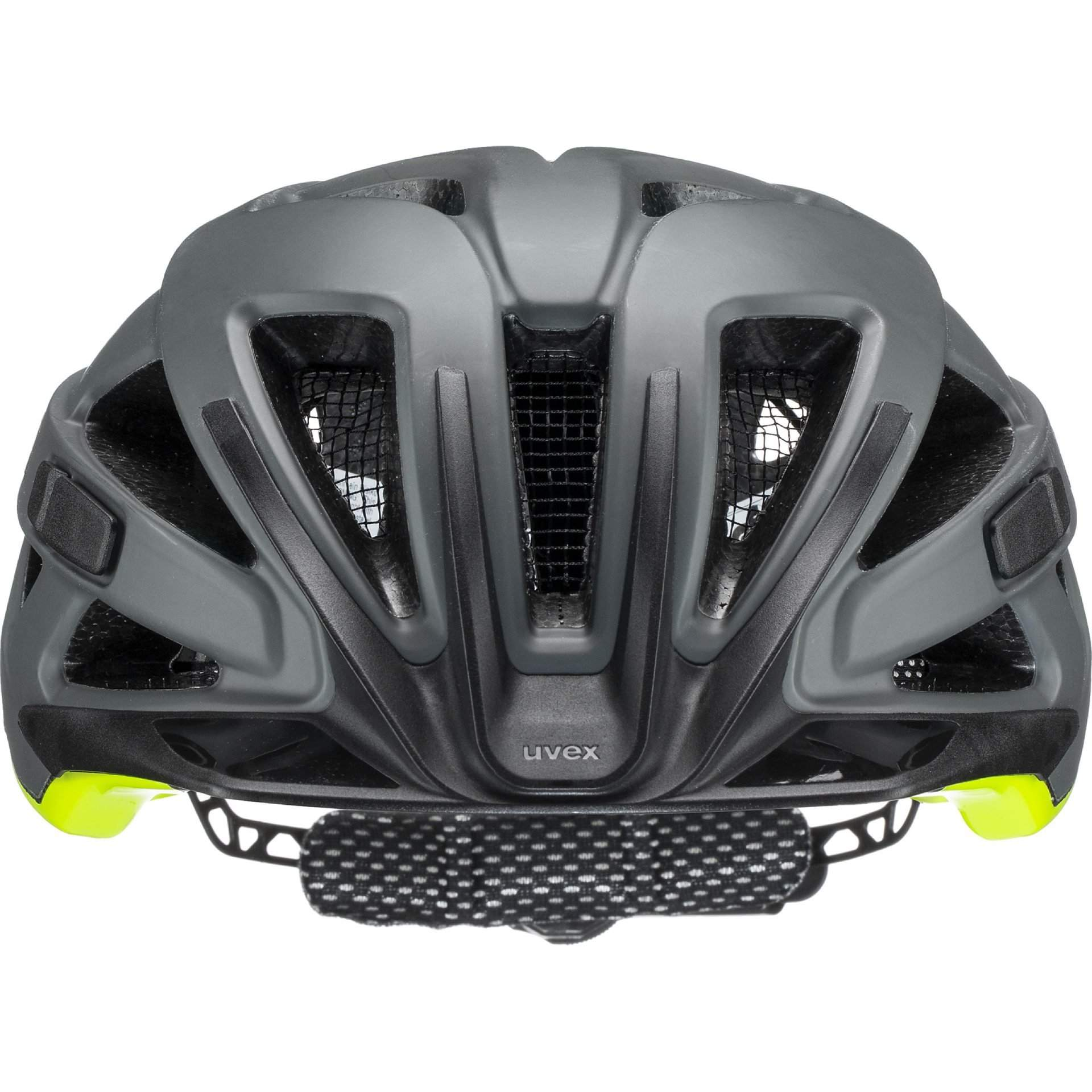KASK ROWEROWY UVEX CITY ACTIVE 41|0|428|08 ANTHRAZIT|LIME MAT Z PRZODU