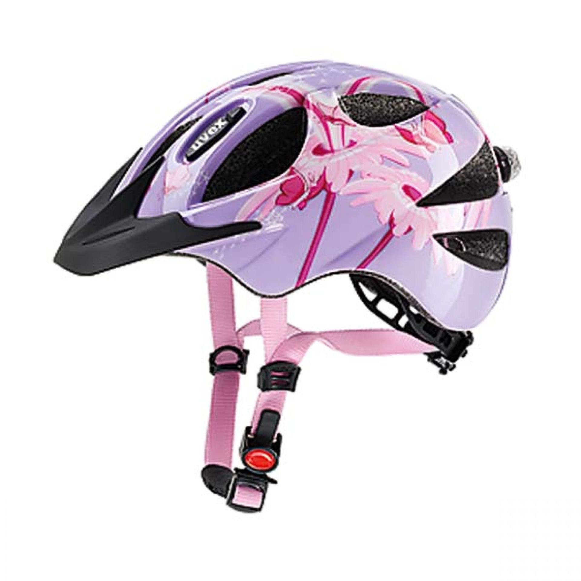 Kask rowerowy Uvex Hero fioloetowo różowy
