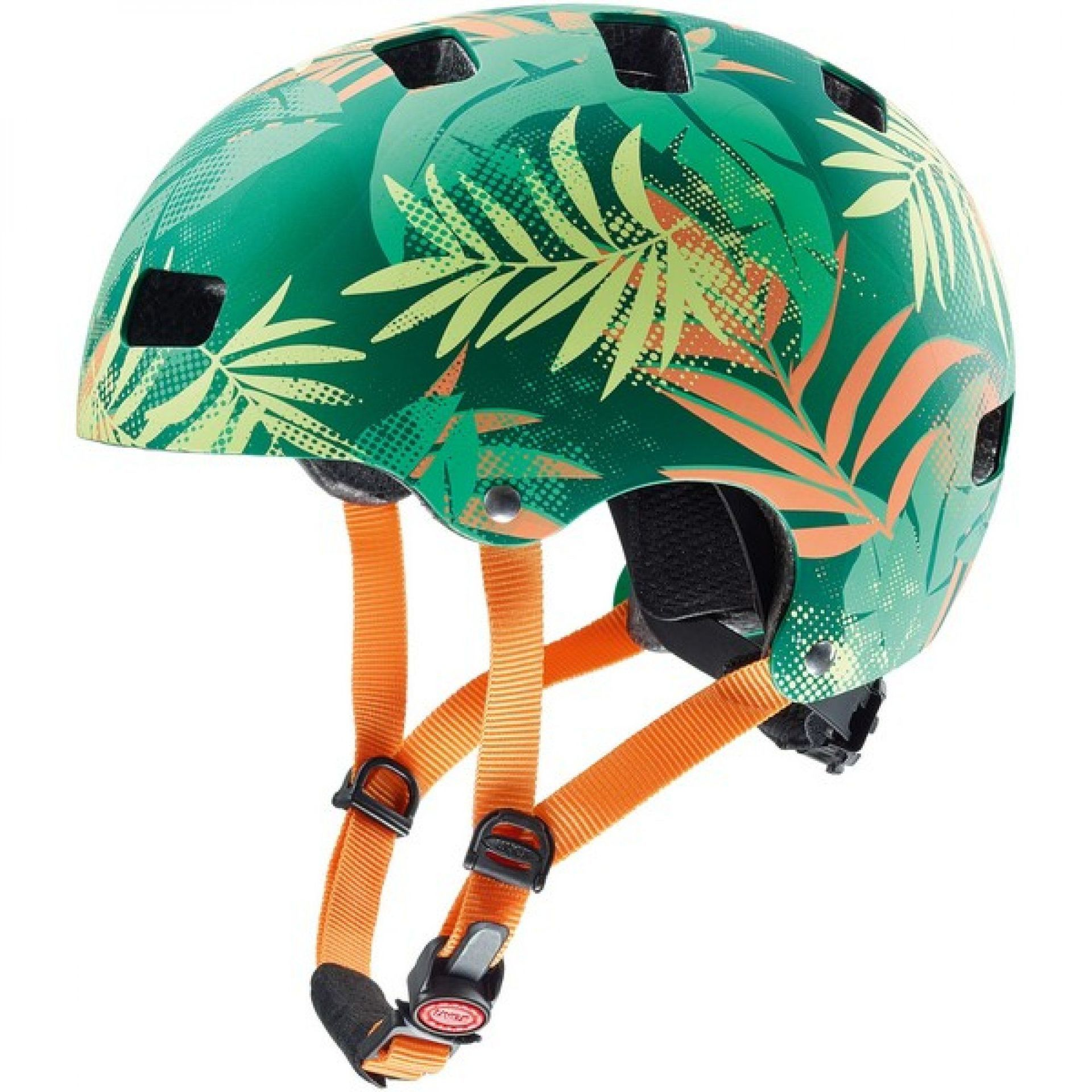 KASK ROWEROWY UVEX KID 3 CC green orange