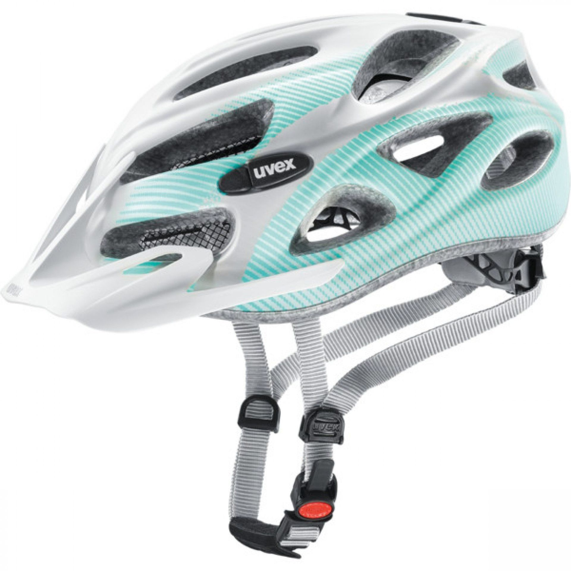 KASK ROWEROWY UVEX ONYX CC 542|06 WHITE|TEAL