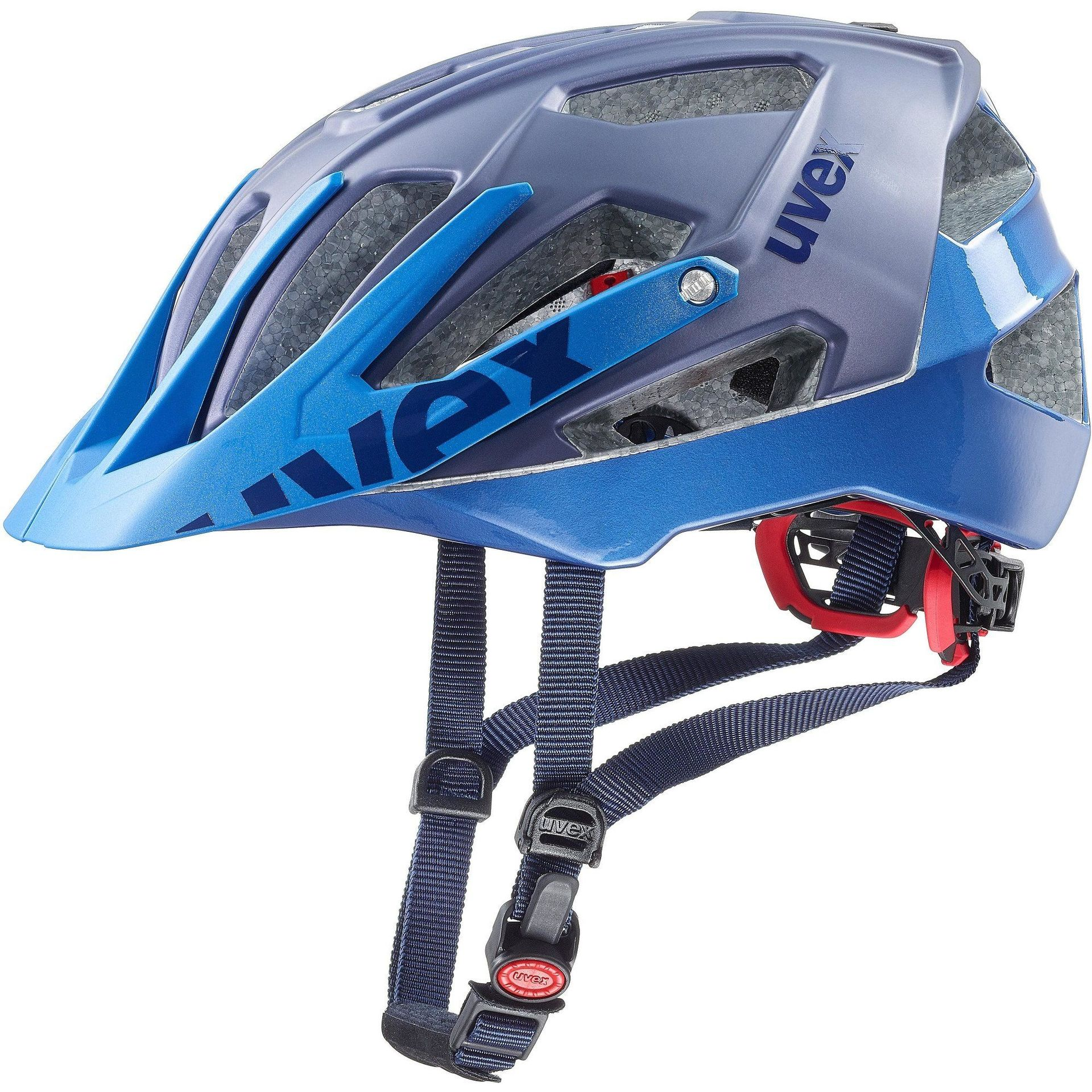 KASK ROWEROWY UVEX QUATRO BLUE MAT