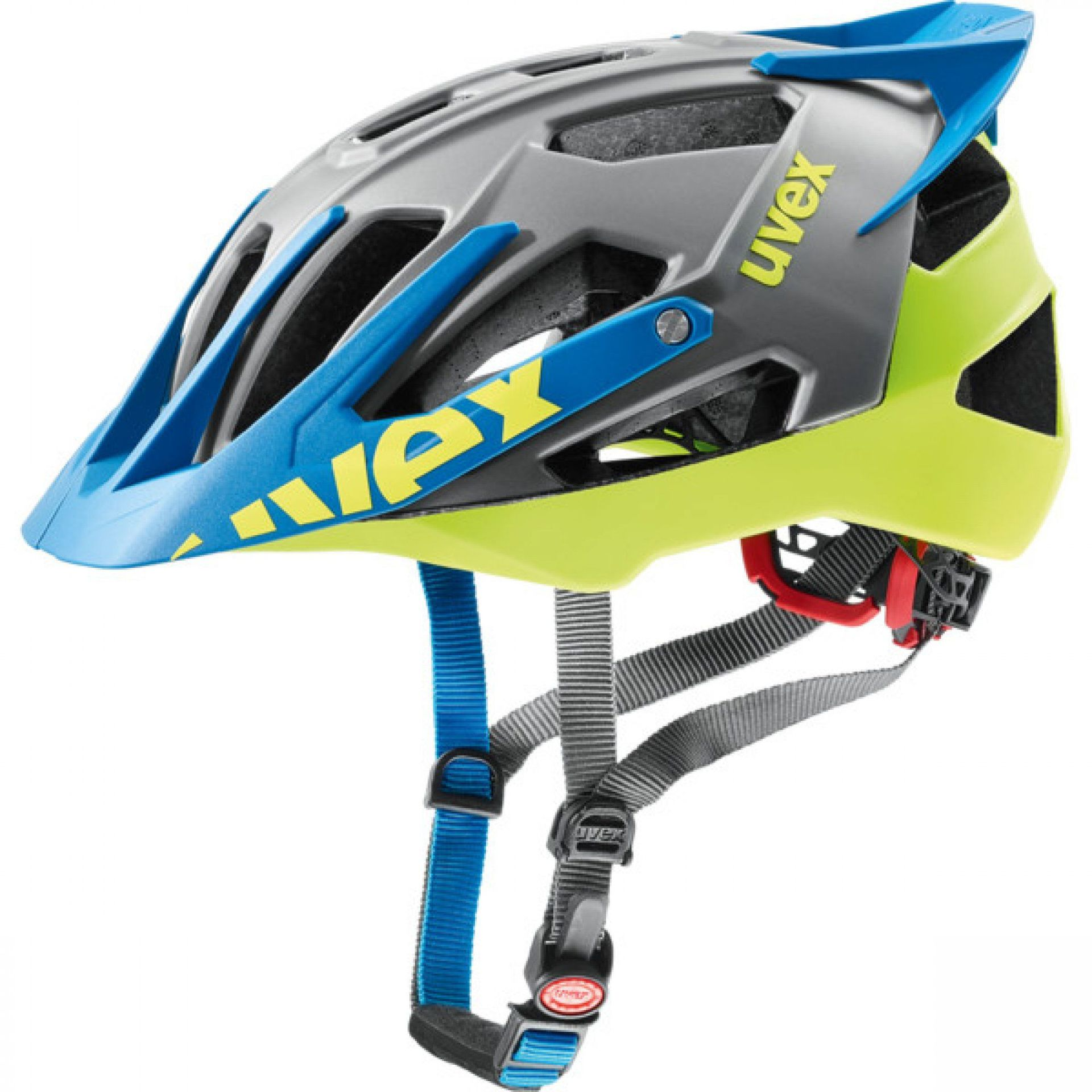 KASK ROWEROWY UVEX QUATRO PRO 776|12 ANTHRACITE|LIME MAT