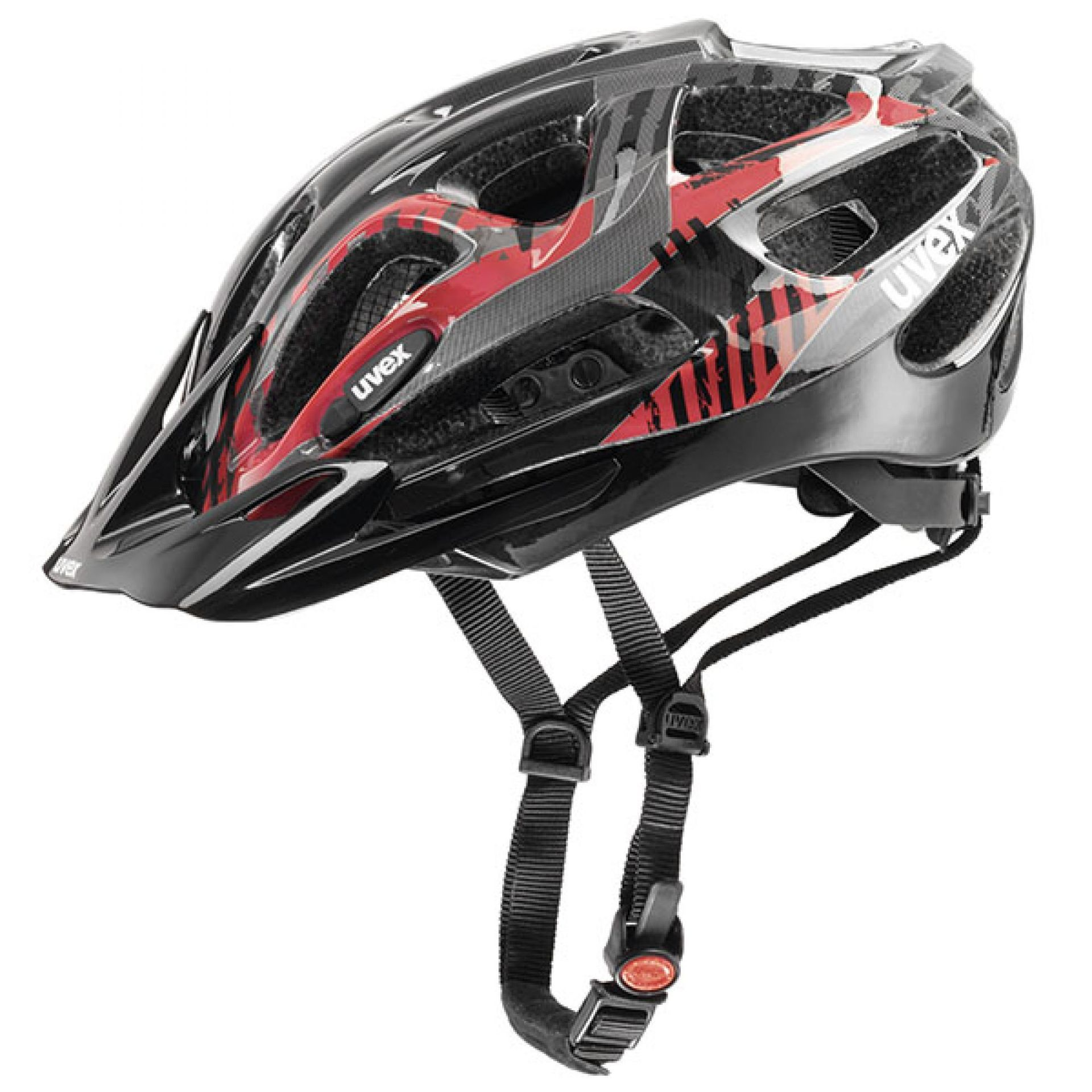 KASK ROWEROWY UVEX SUPERSONIC BLACK RED
