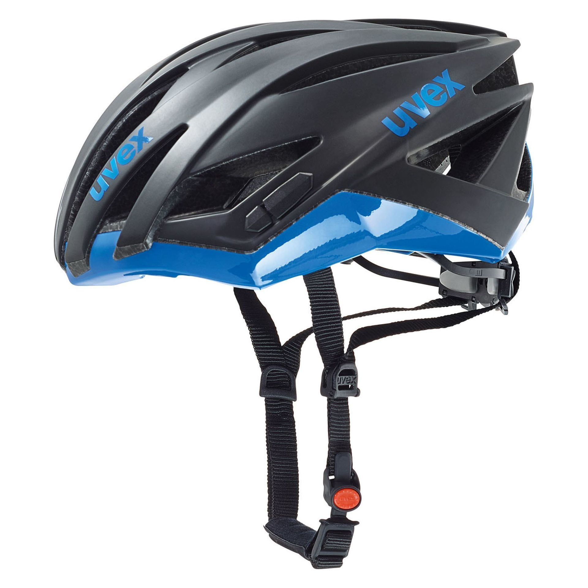 KASK ROWEROWY UVEX ULTRASONIC RACE BLACK BLUE