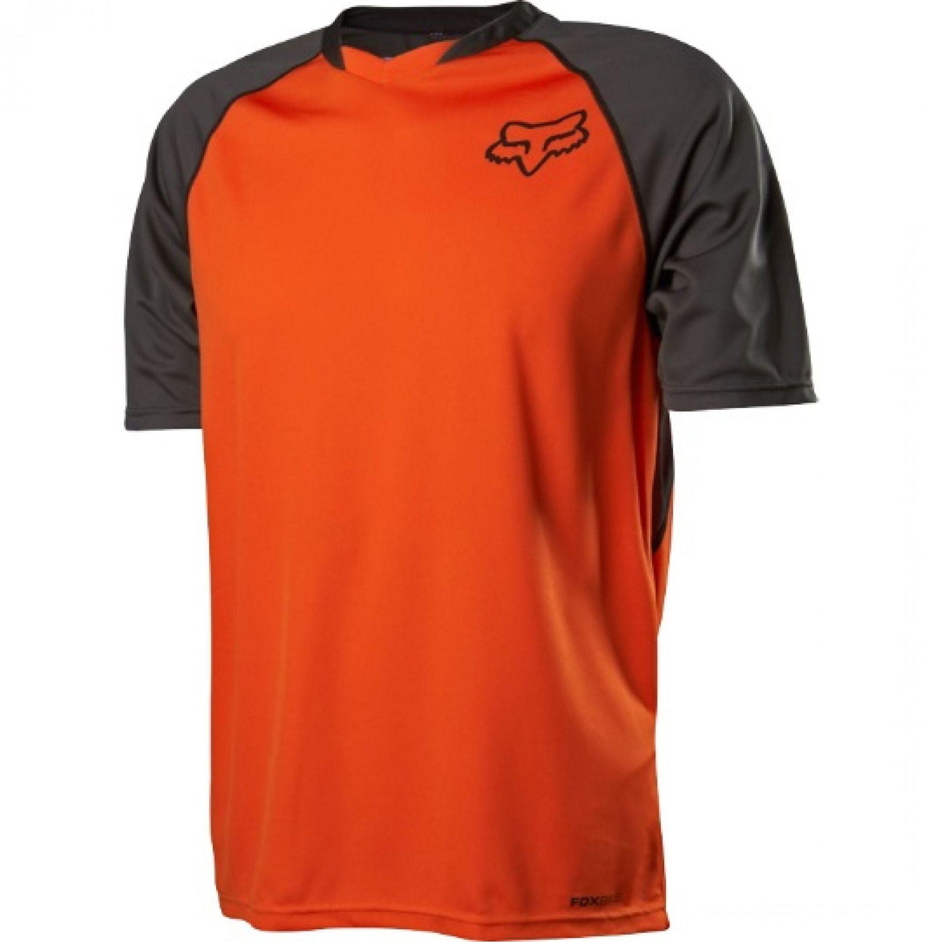 Koszulka Fox Indicator SS Jersey pomarańczowa