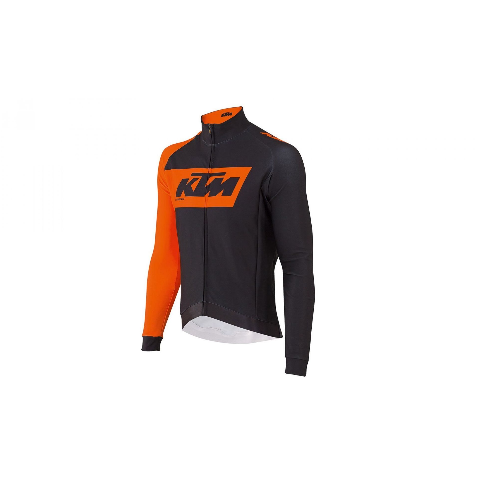 KOSZULKA ROWEROWA KTM FACTORY TEAM RACE WINTER BLACK|ORANGE