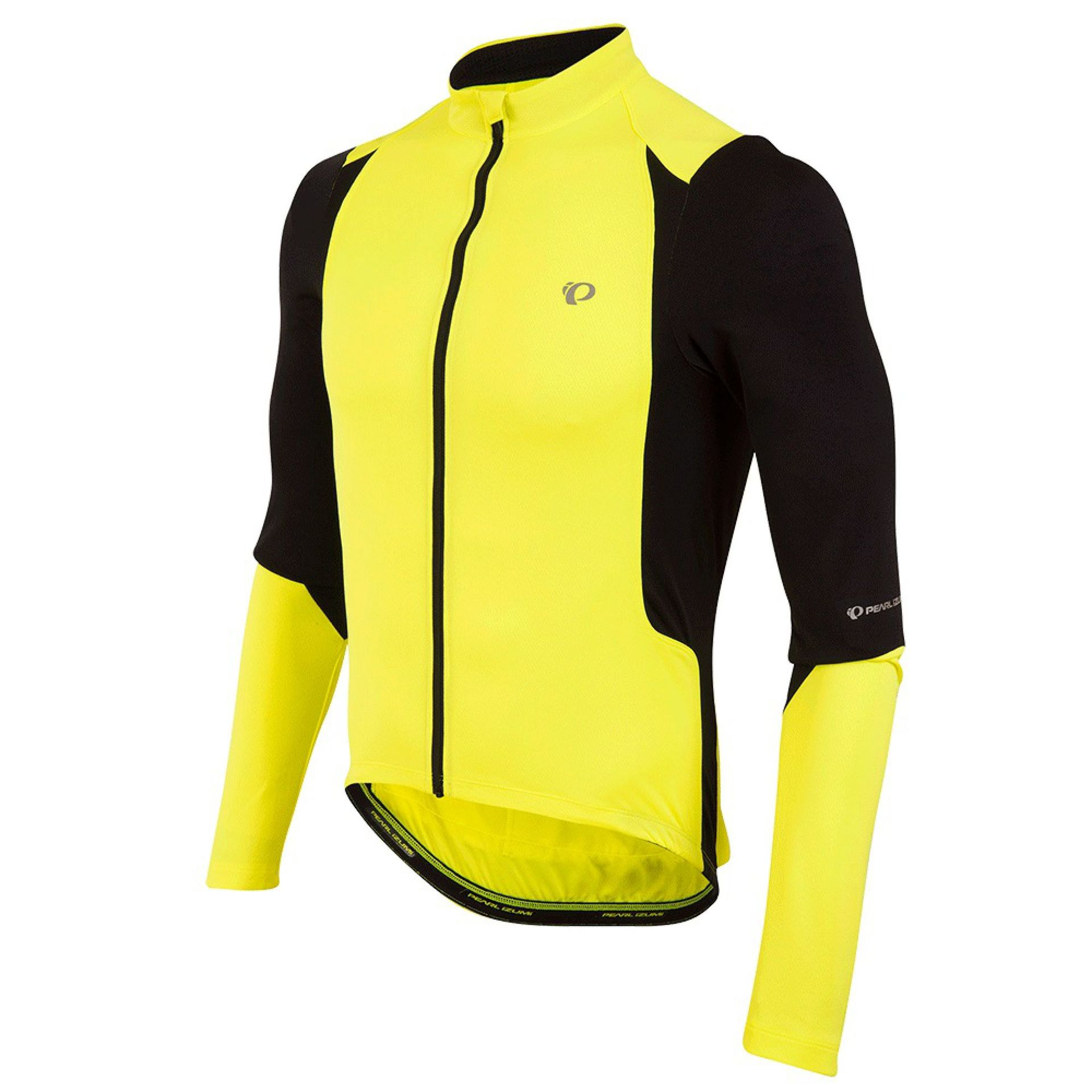 KOSZULKA ROWEROWA PEARL IZUMI SELECT LS SCREAMING YELLOW BLACK 1