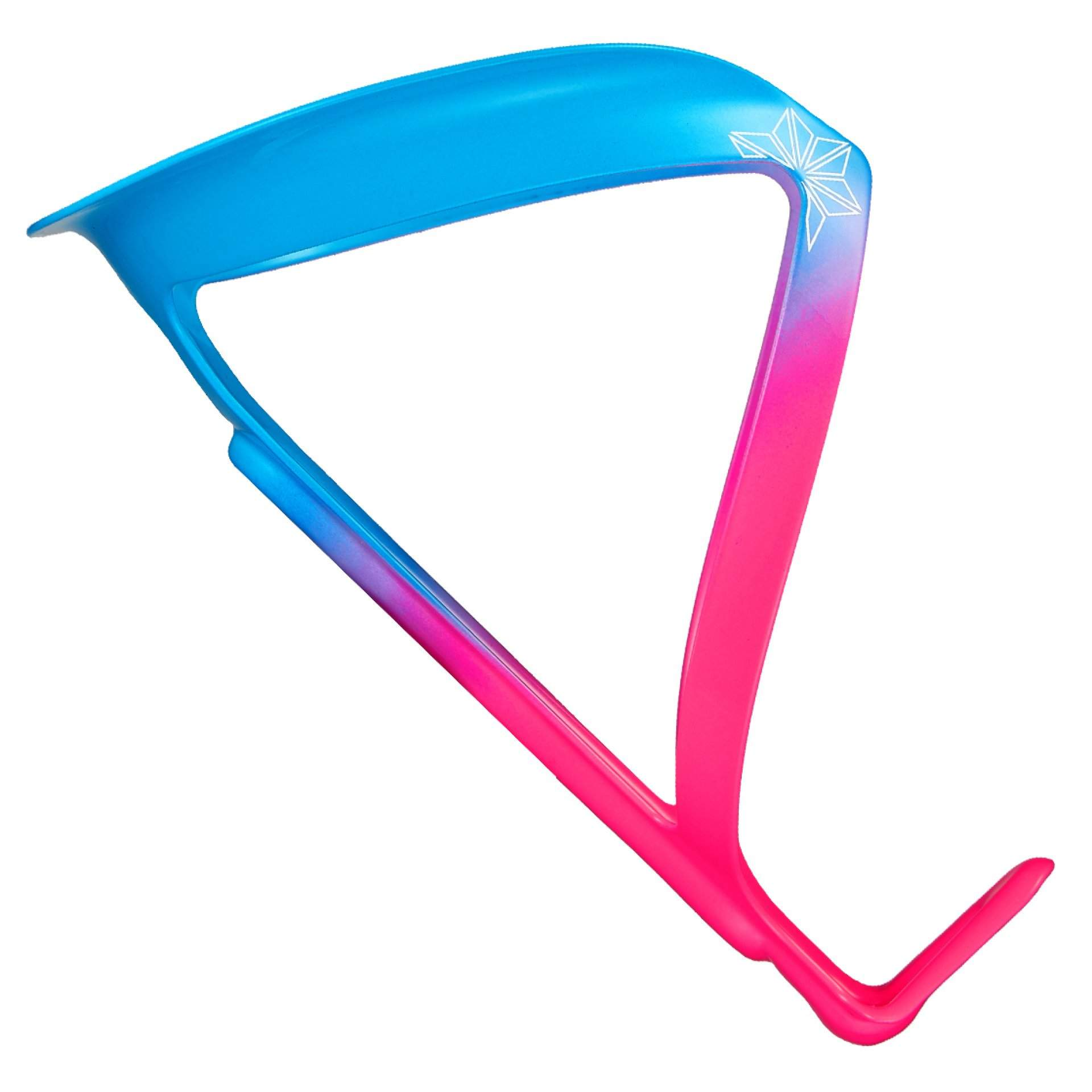 KOSZYK NA BIDON ROWEROWY SUPACAZ FLY CAGE LIMITED CG103 NEON PINK|NEON BLUE