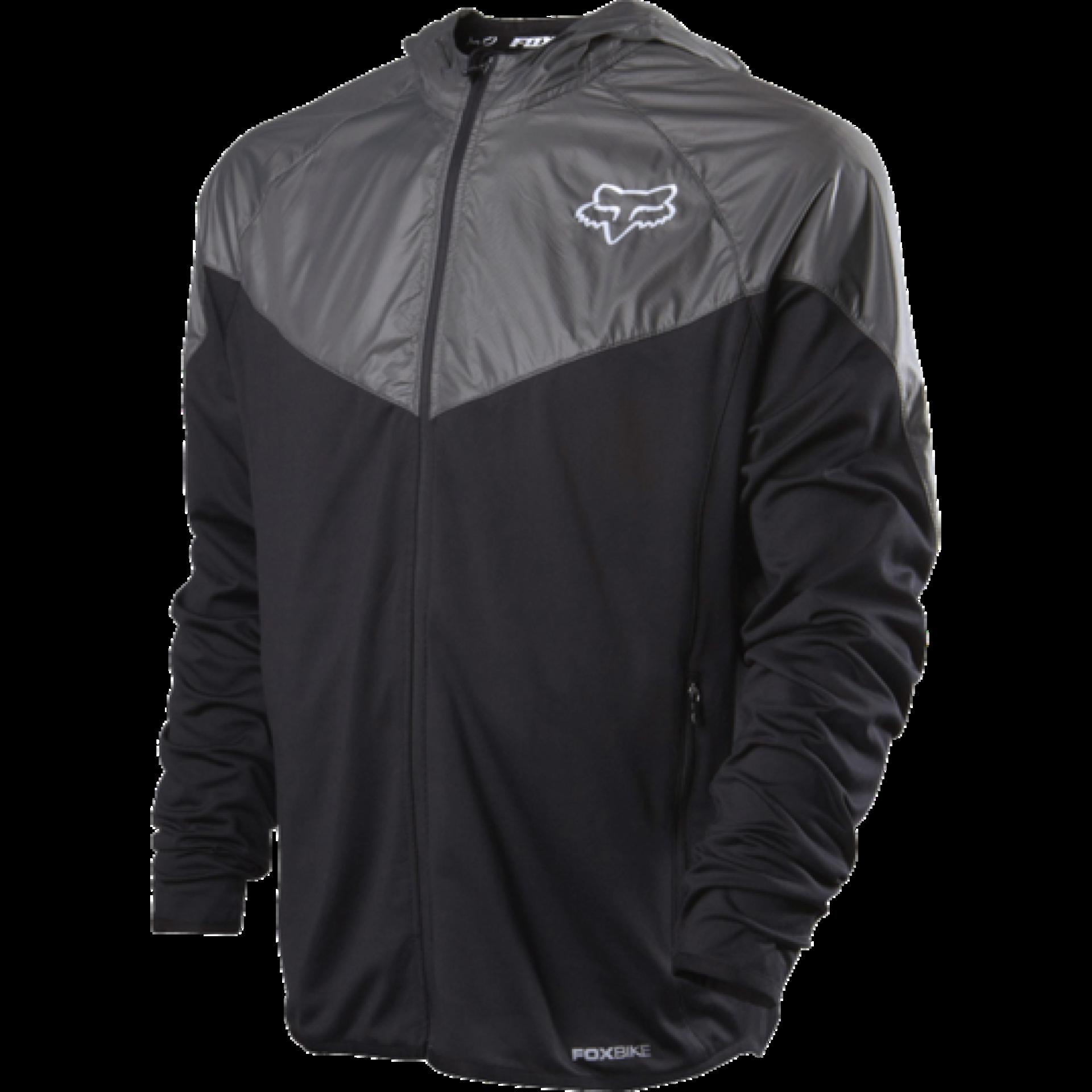 Kurtka rowerowa Foxhead Diffuse Jacket czarna przód