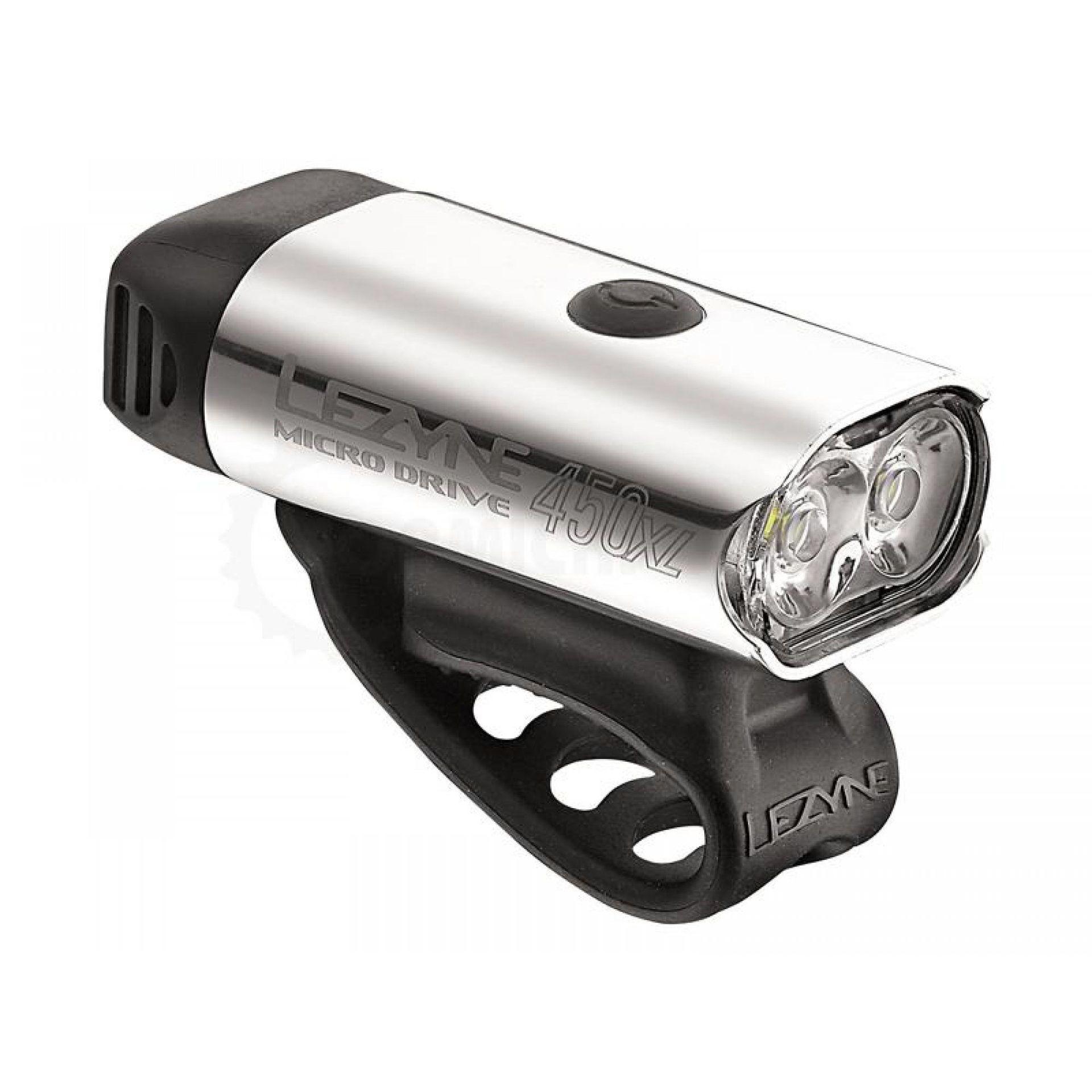 LAMPKA ROWEROWA PRZEDNIA LEZYNE LED MICRO DRIVE 450 XL