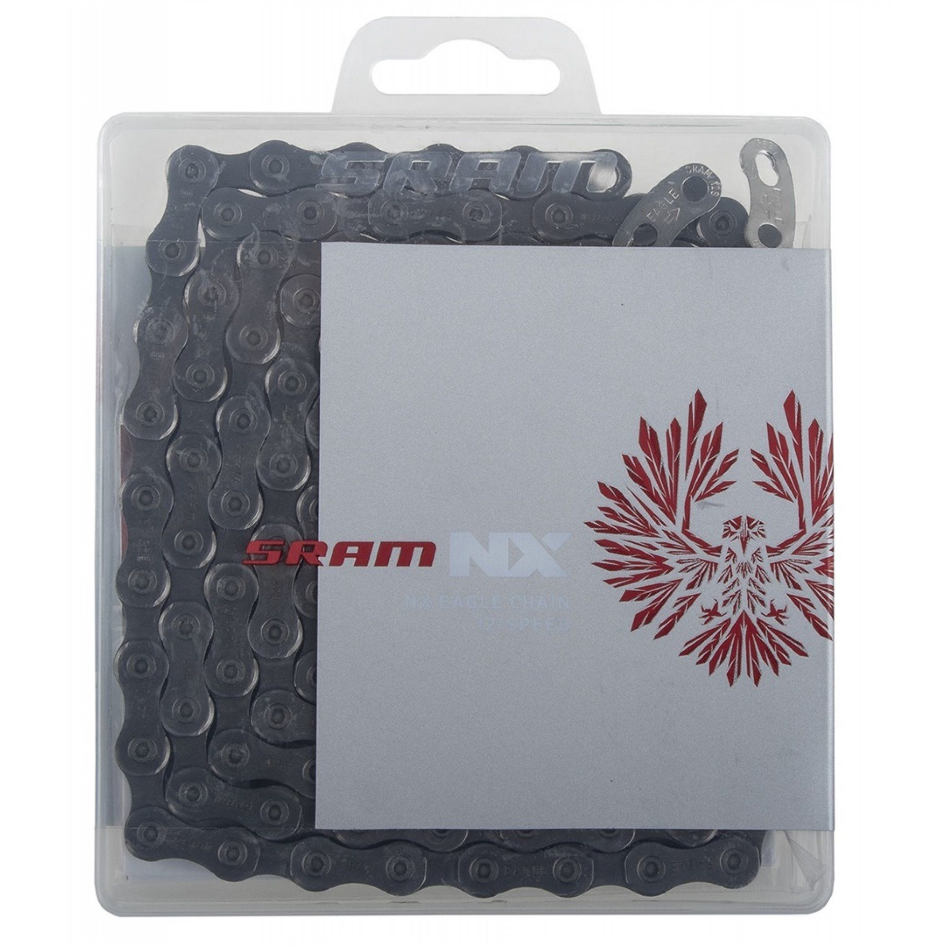 ŁAŃCUCH ROWEROWY SRAM PC-NX EAGLE SILVER 1