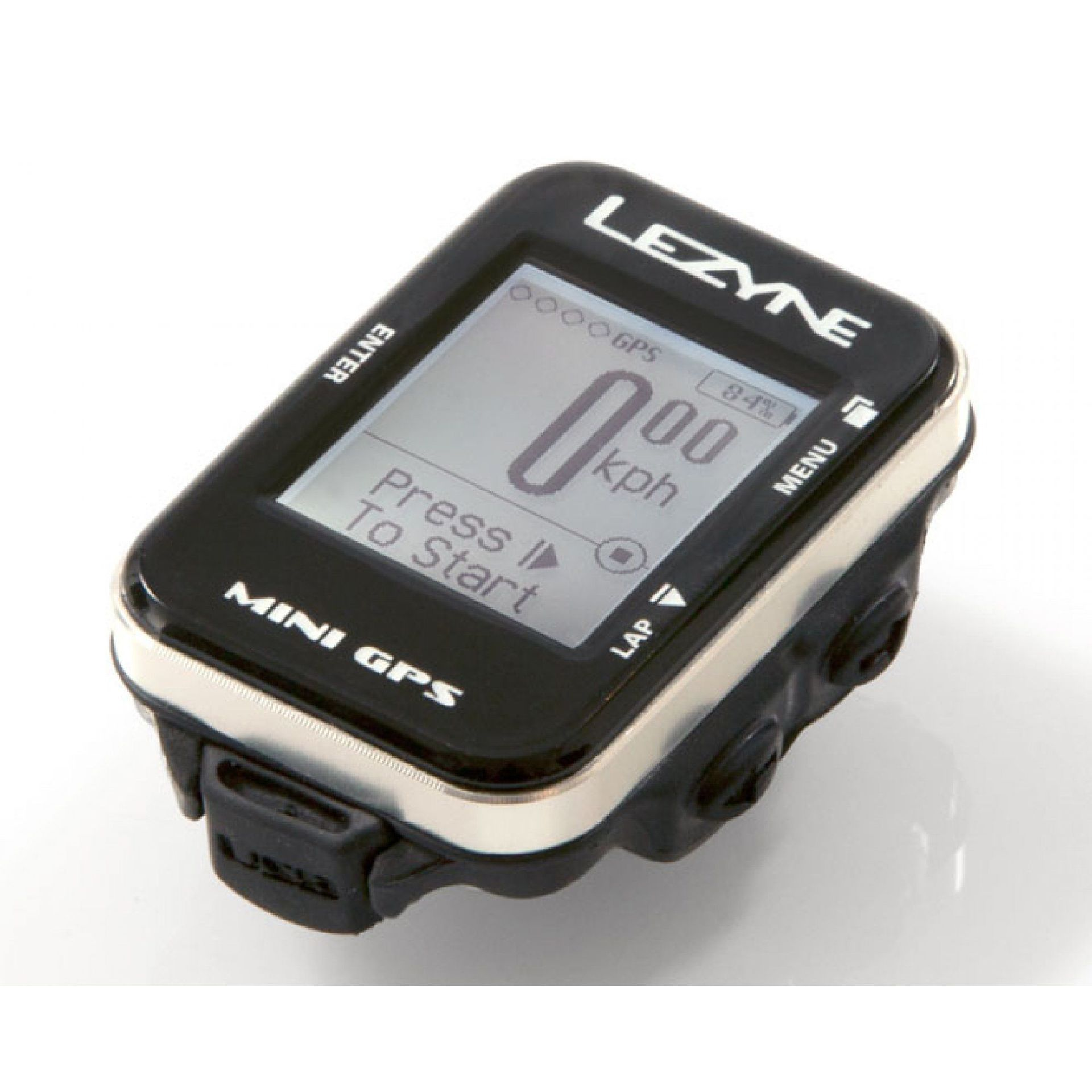 LICZNIK ROWEROWY LEZYNE MINI GPS CZARNY 2