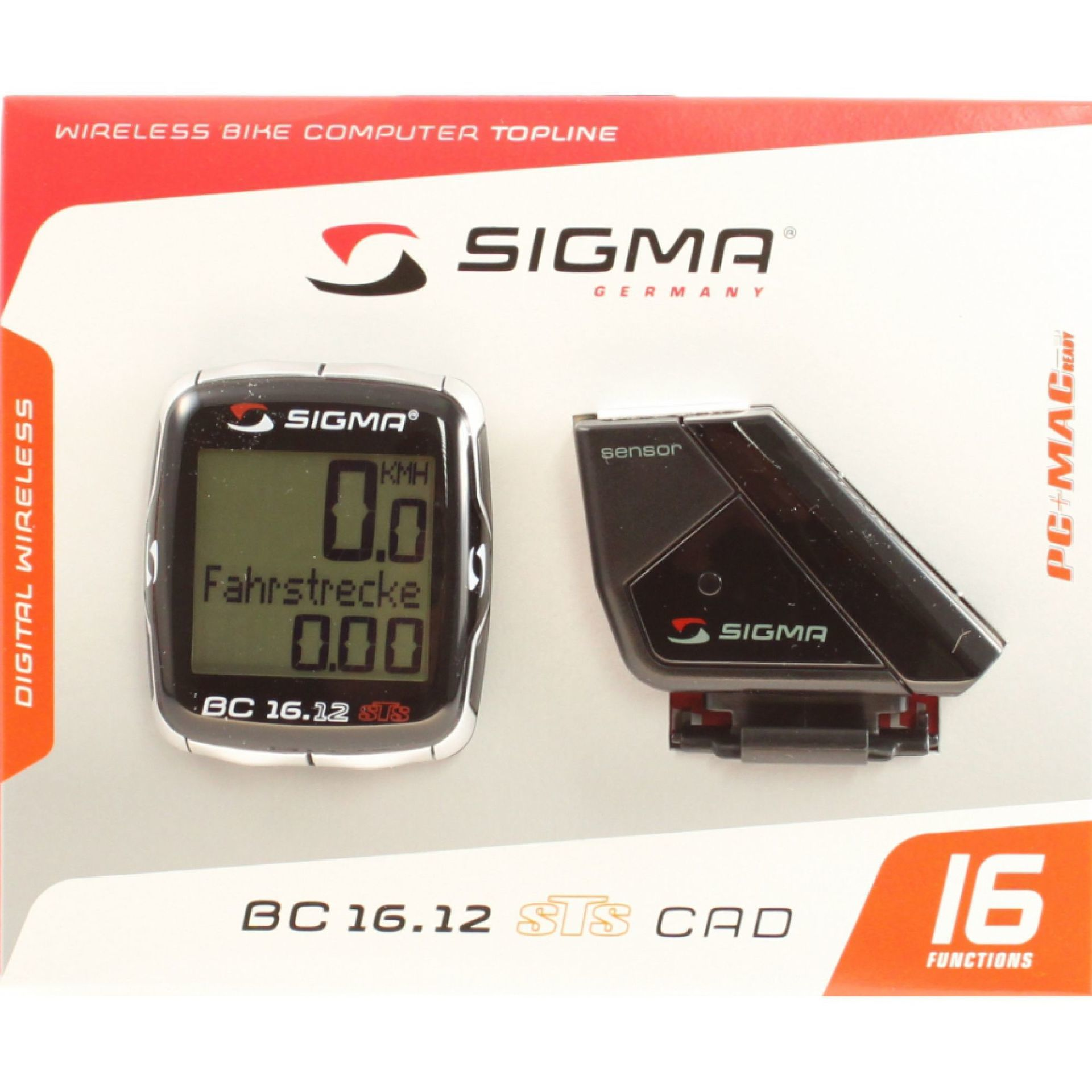 LICZNIK SIGMA BC 16.12 STS CAD