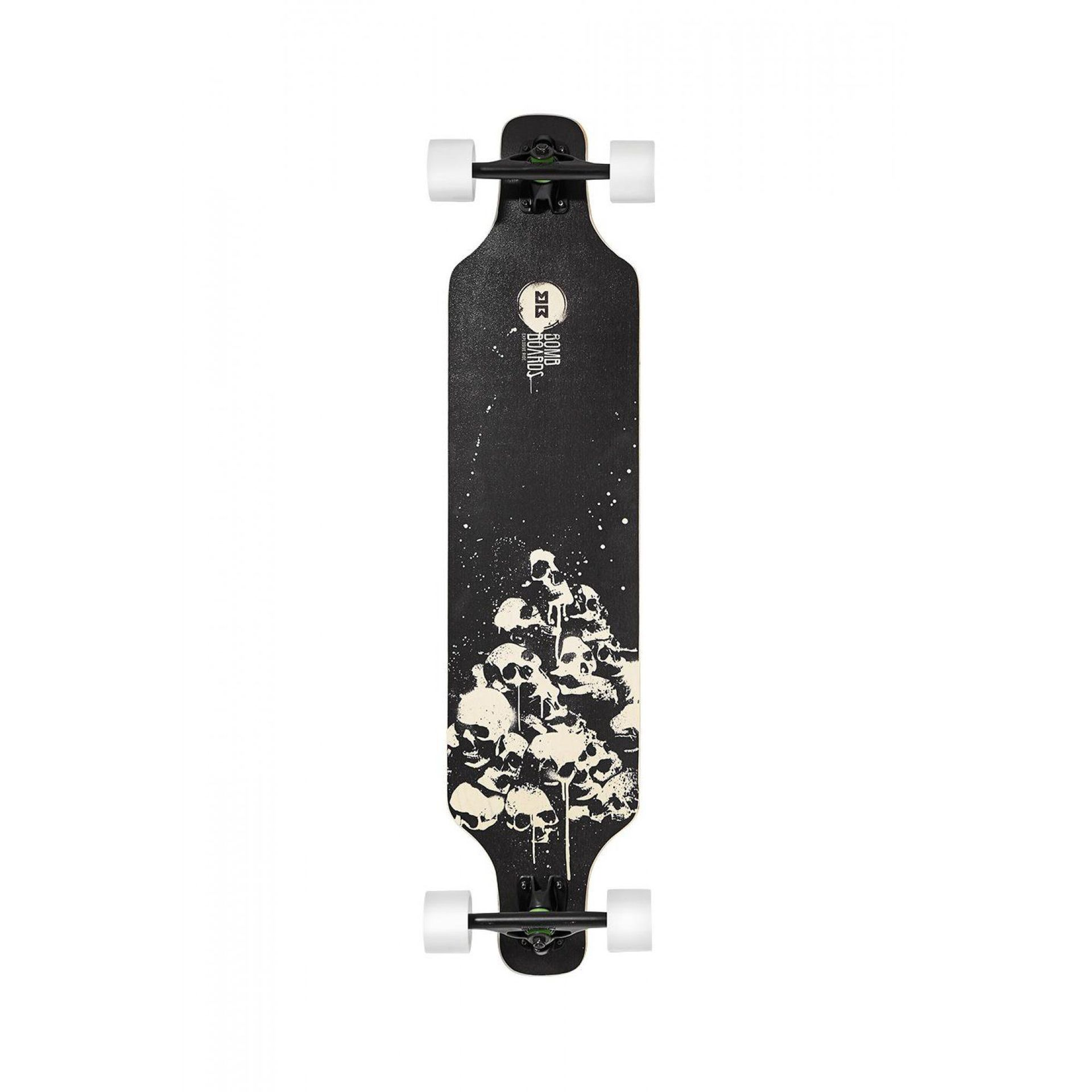 LONGBOARD BOMBBOARDS KILLER TWIN BLACK 1