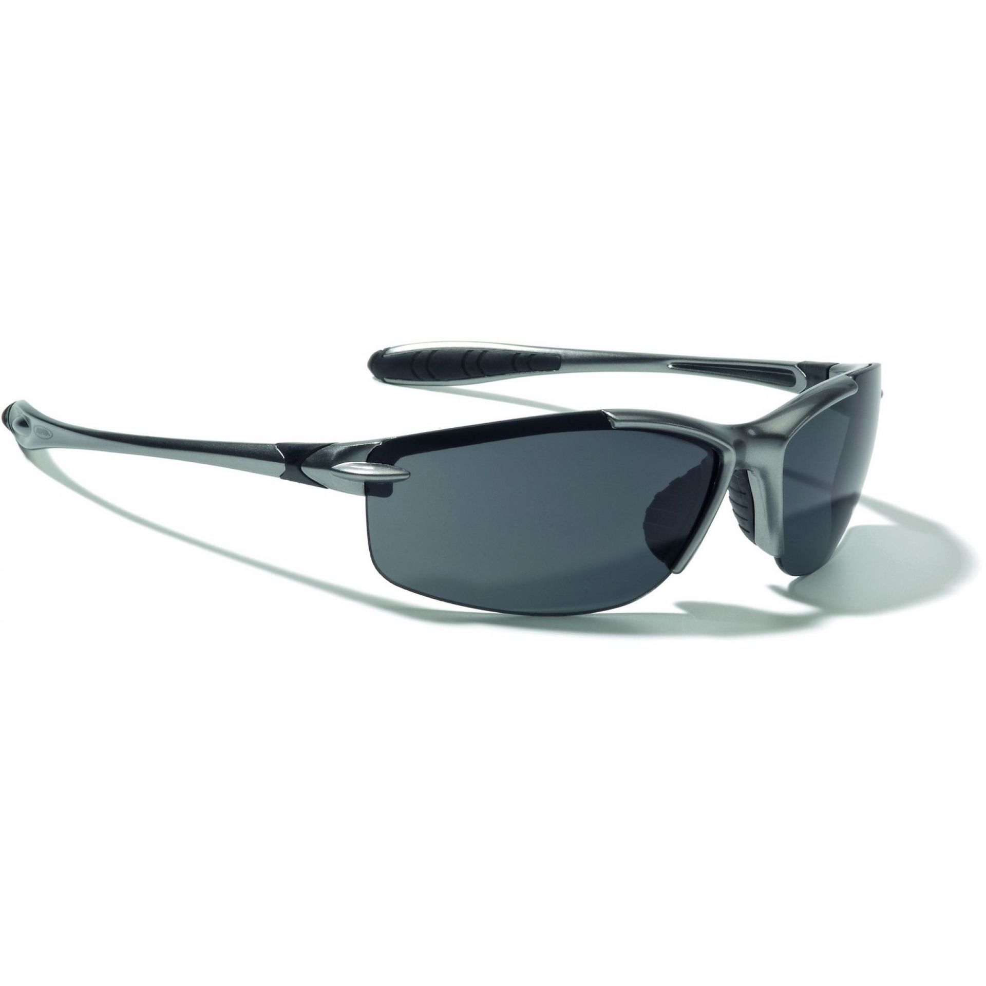 Okulary Alpina Glyder srebrno czarne