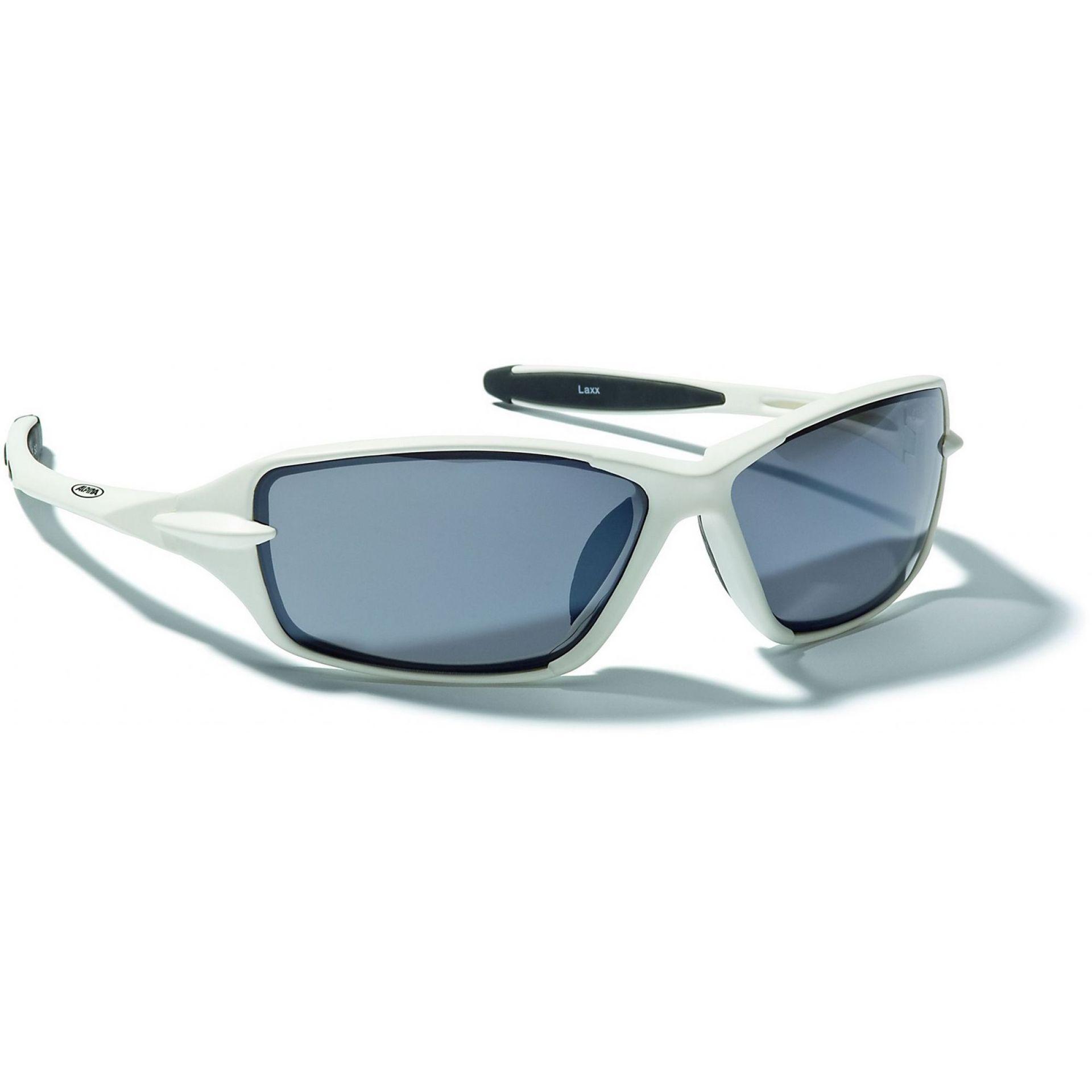 Okulary Alpina Laxx biało czarne