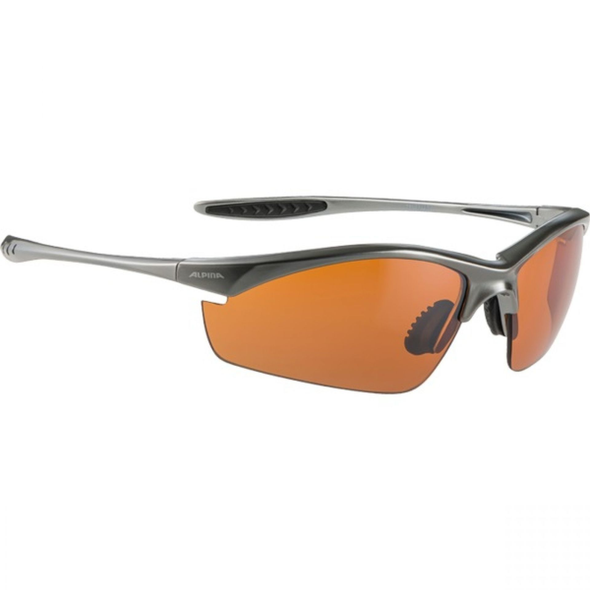 Okulary Alpina Tri-Effect czarno pomarańczowe