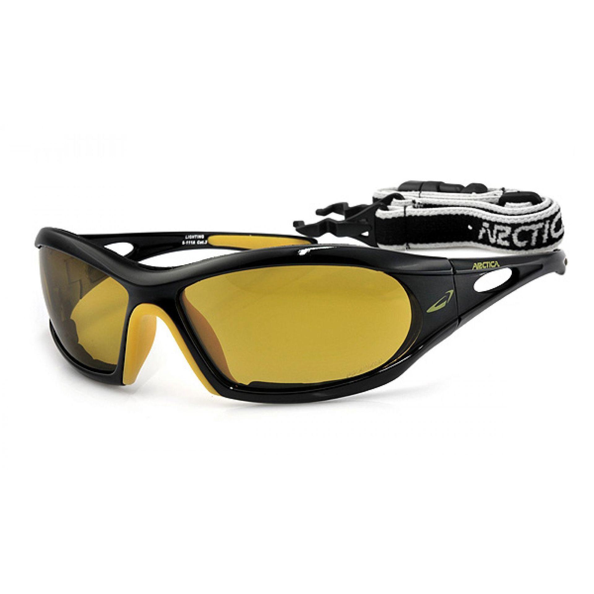 Okulary Arctica S-111A czarno żółte