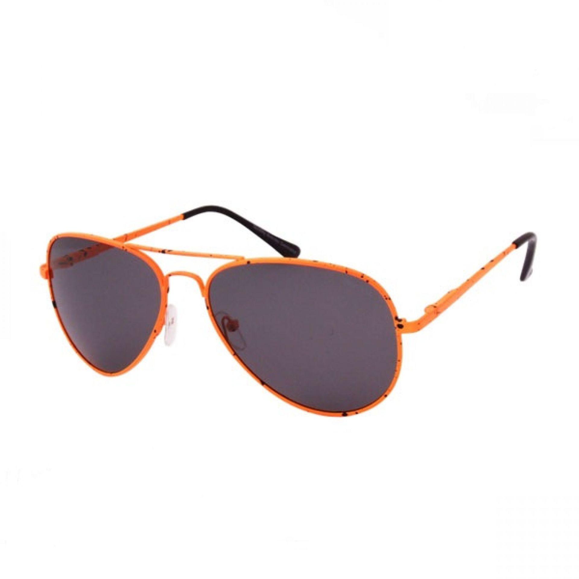 Okulary Brenda M7048-HM pomarańczowe