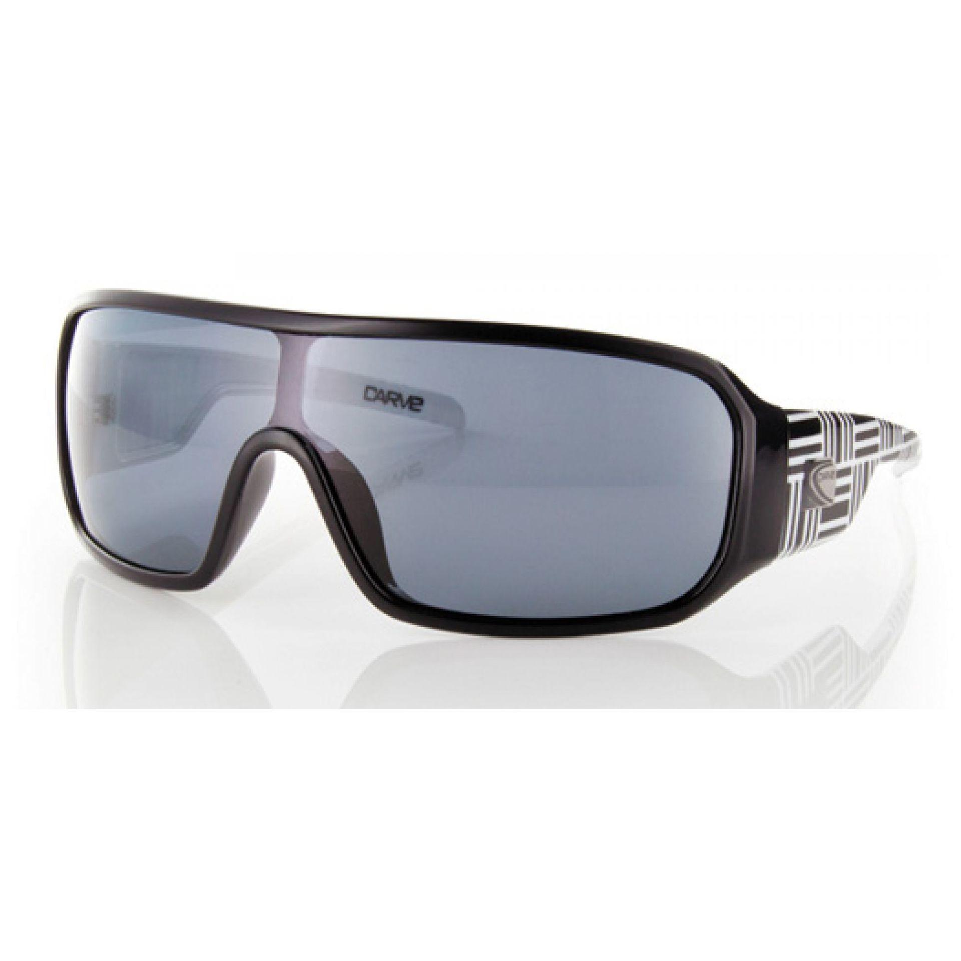 Okulary Carve Chronic czarno białe