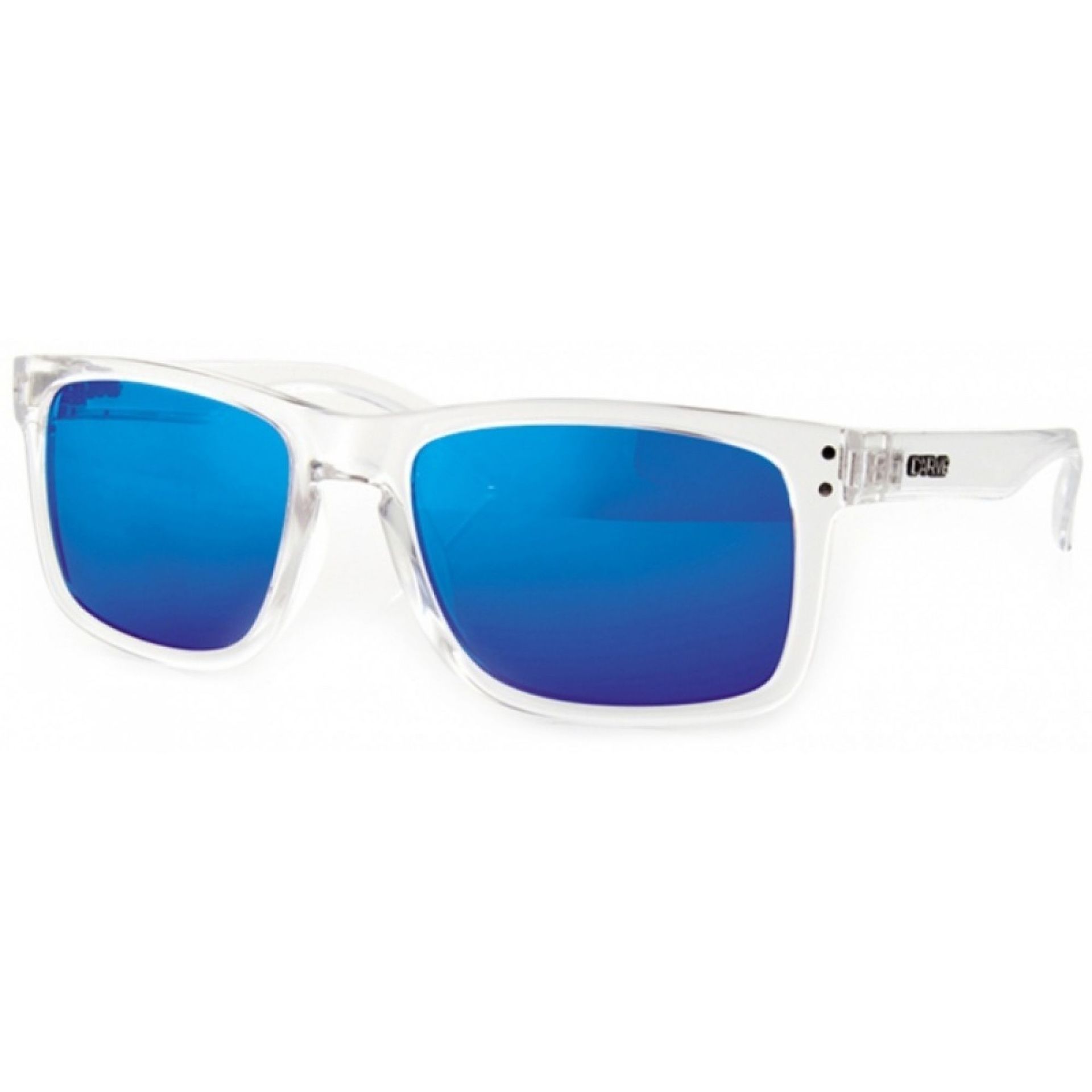 Okulary Carve Goblin clear blue revo