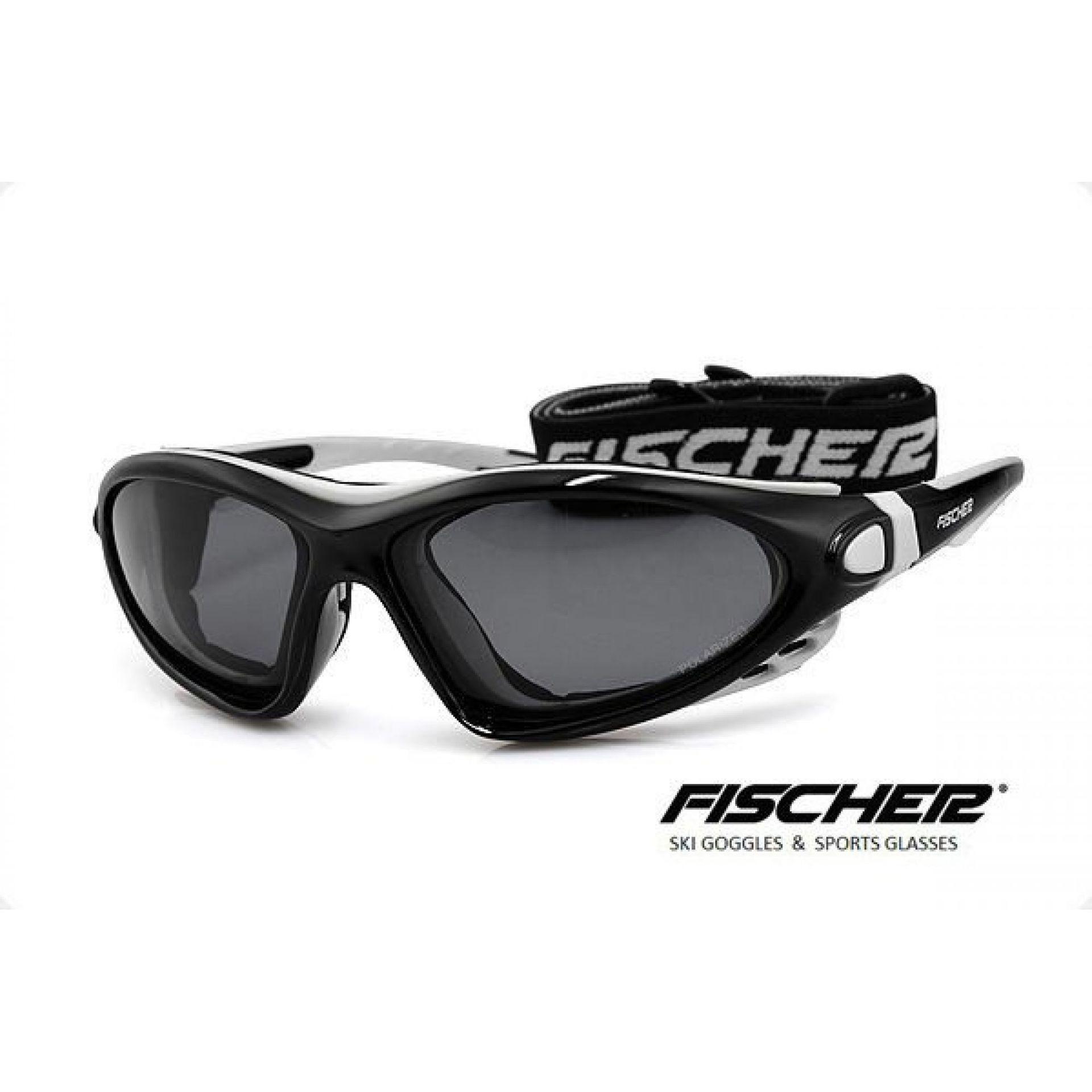 Okulary Fischer FS-03 D biały czarny