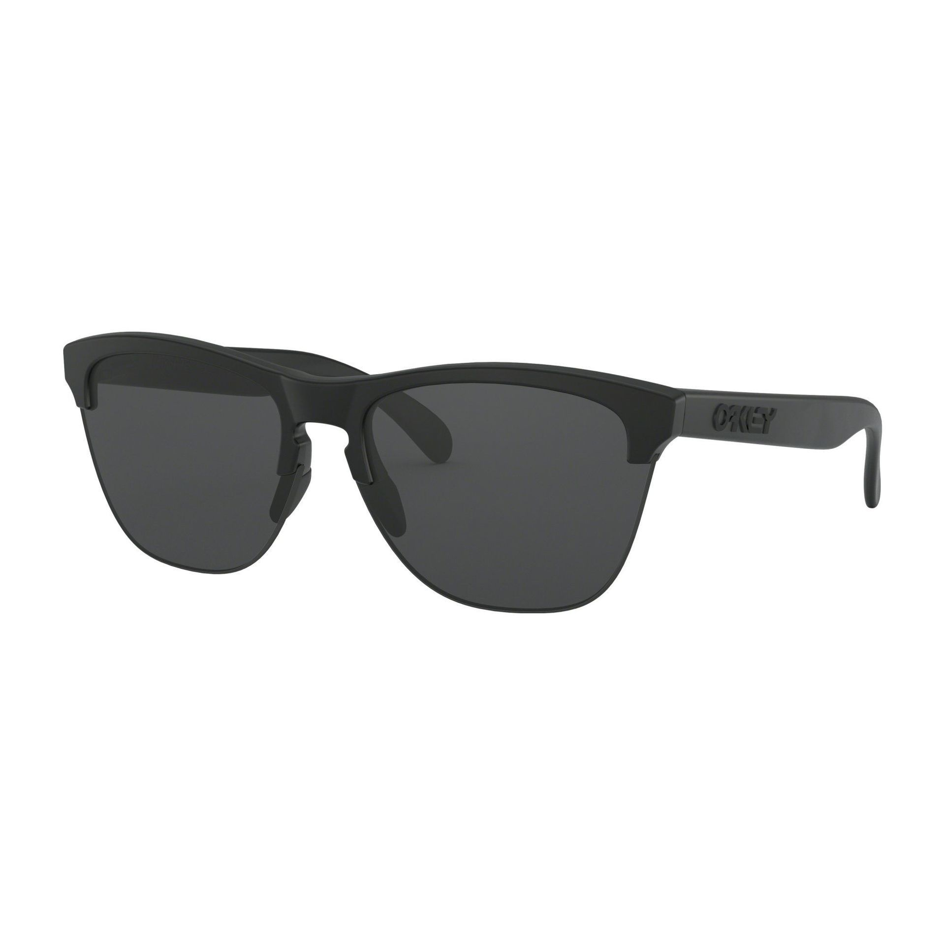 OKULARY OAKLEY FROGSKINS LITE MATTE BLACK|GREY 1