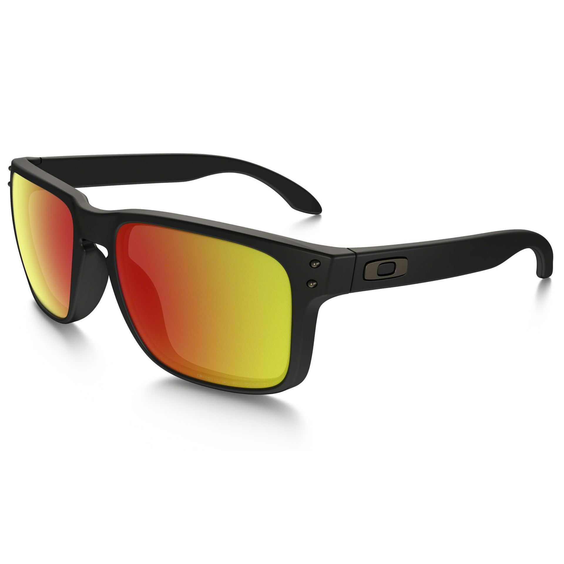 OKULARY OAKLEY HOLBROOK POLARIZED MATTY BLACK RUBY IRIDIUM POLARIZED
