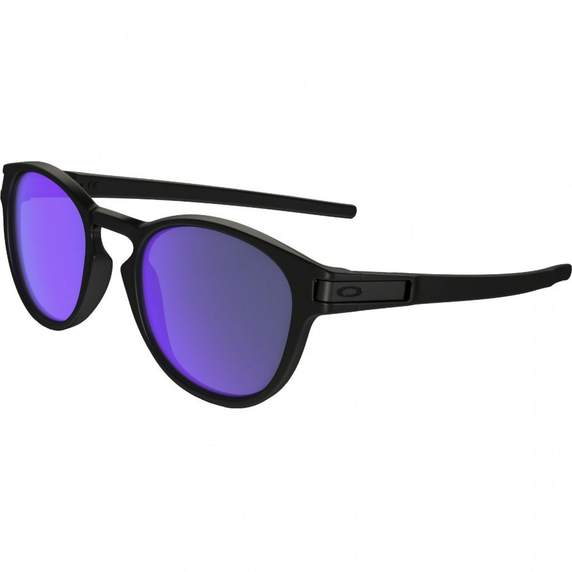 OKULARY OAKLEY LATCH MATTE BLACK|VIOLET IRIDIUM 1