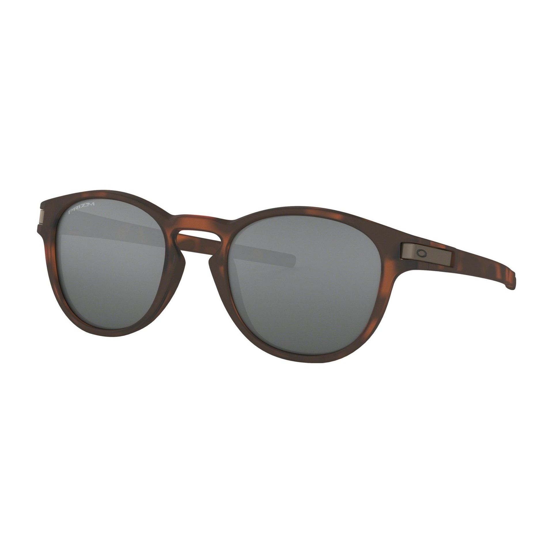 OKULARY OAKLEY LATCH MATTE BROWN TORTOISE|PRIZM BLACK 1