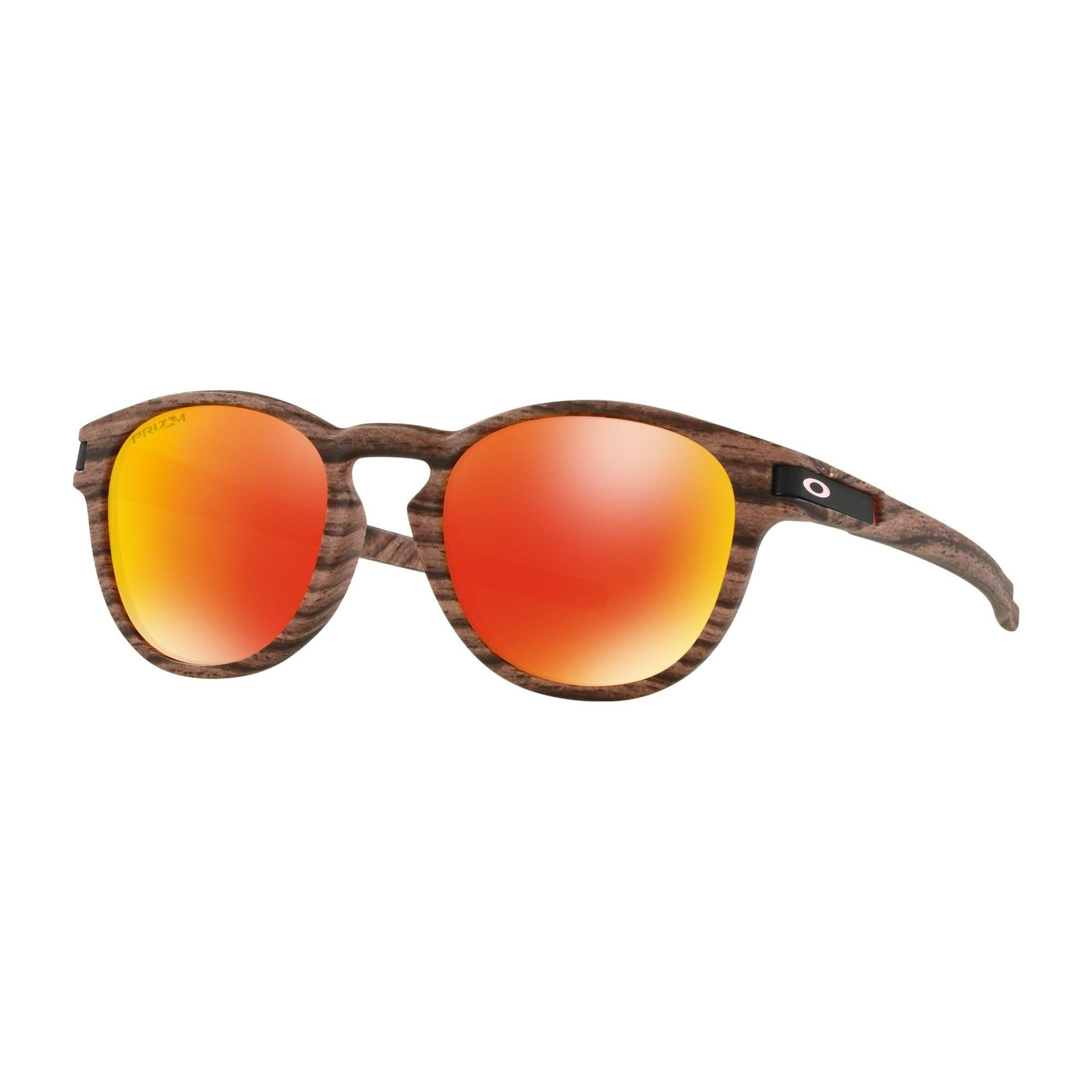 OKULARY OAKLEY LATCH WOODSTAIN ROSEWOOD|PRIZM RUBY 1