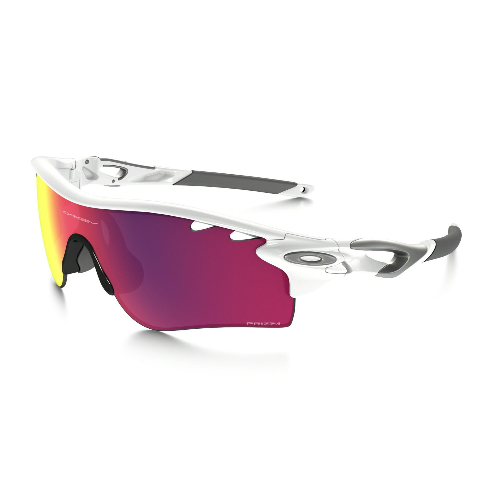 OKULARY OAKLEY RADARLOCK POLISHED WHITE PRIZM ROAD