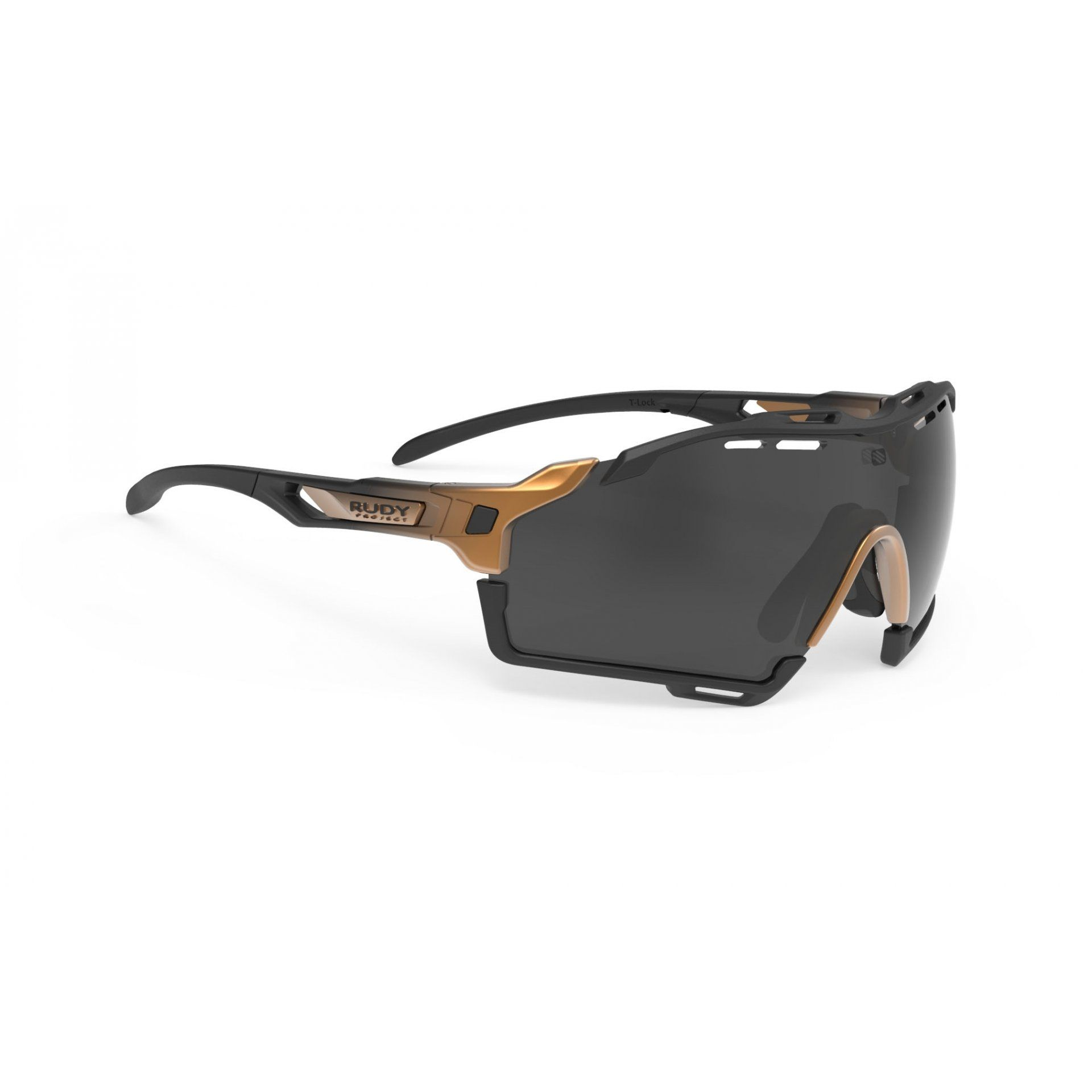 OKULARY RUDY PROJECT CUTLINE BRONZE FADE|BLACK MATTE+SMOKE BLACK 1