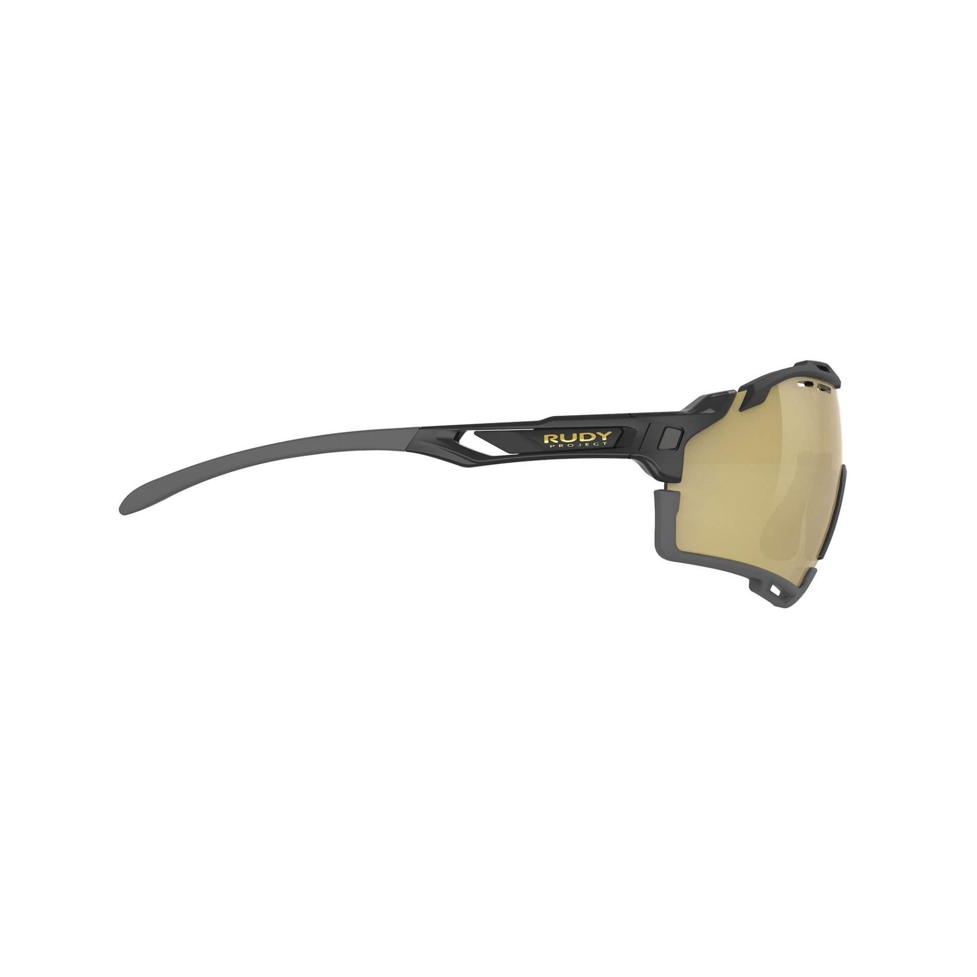 OKULARY RUDY PROJECT CUTLINE MULTILASER GOLD + BLACK GLOSS SP6357420005 Z BOKU