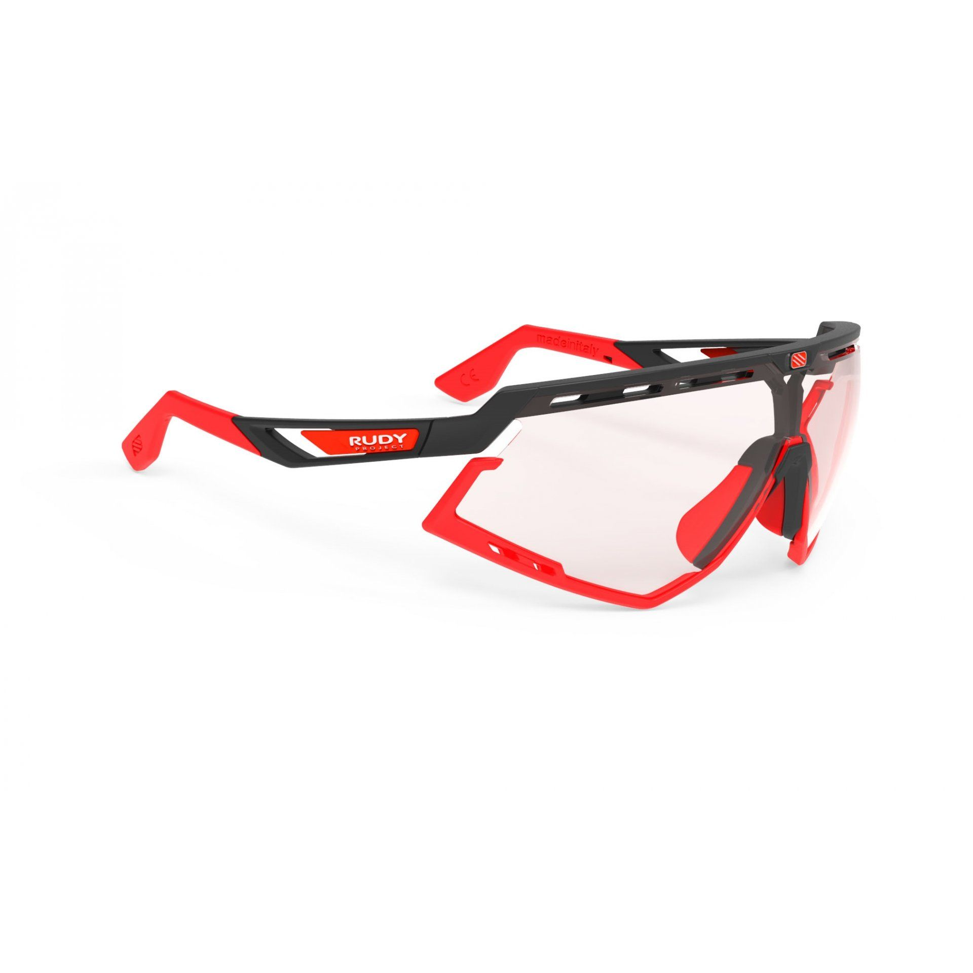 OKULARY RUDY PROJECT DEFENDER BLACK MATTE+PHOTOCHROMIC RED 1