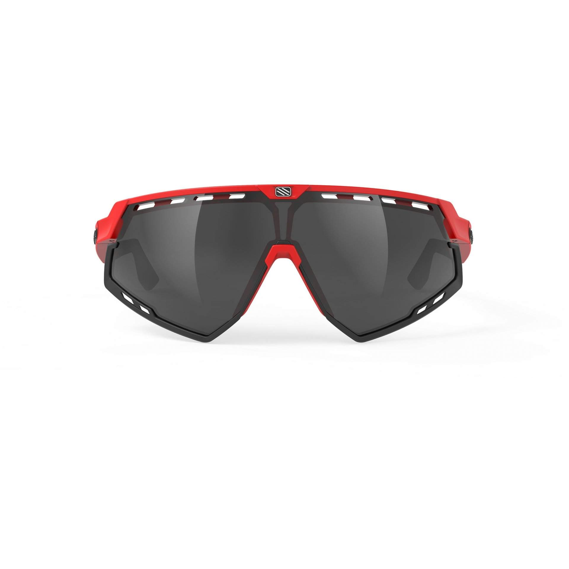 OKULARY RUDY PROJECT DEFENDER FIRE RED MATTE SMOKE BLACK 2