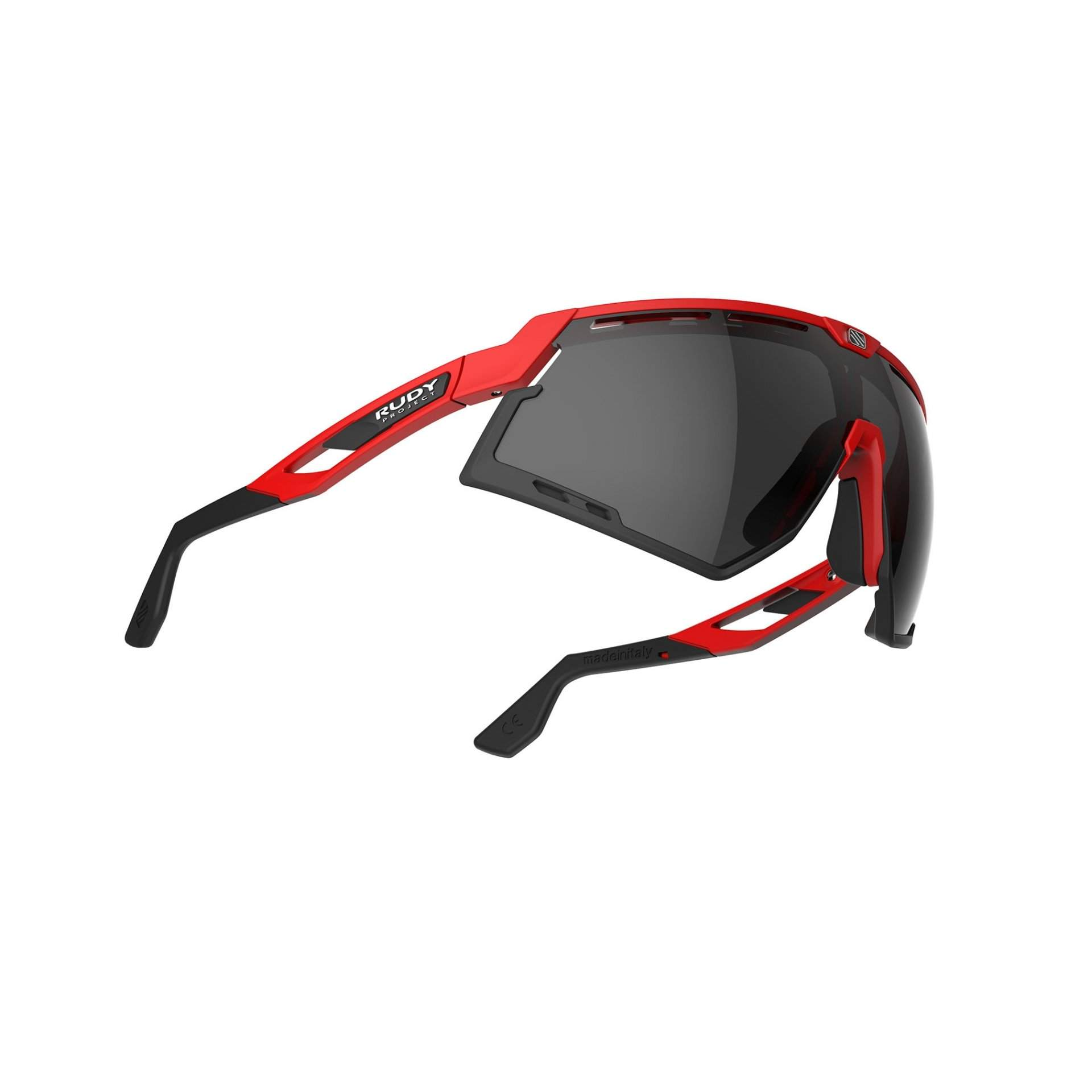 OKULARY RUDY PROJECT DEFENDER FIRE RED MATTE SMOKE BLACK 3