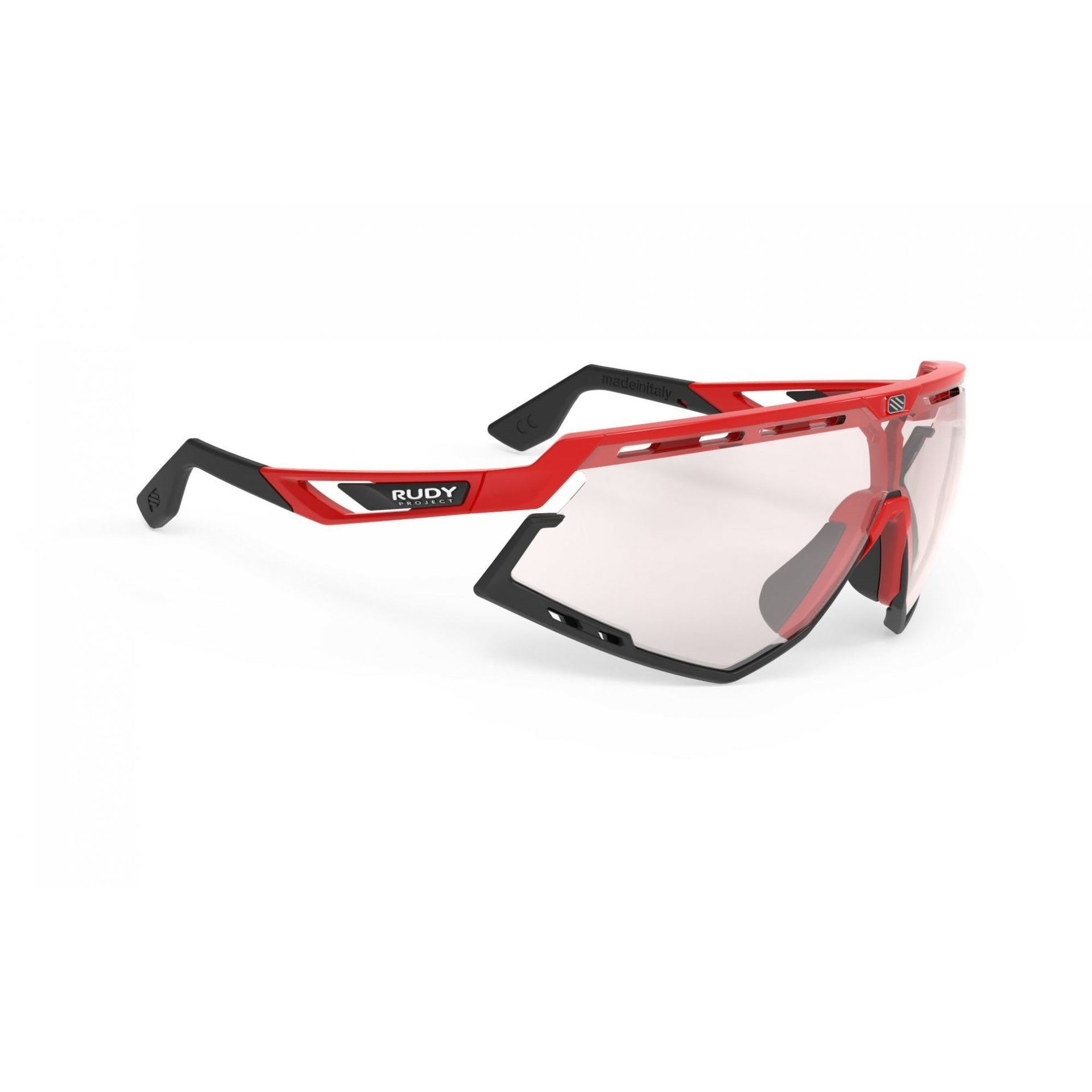 OKULARY RUDY PROJECT DEFENDER FIRE RED|BLACK + IMPACTX PHOTOCHROMIC 2LASERRED SP528945 1