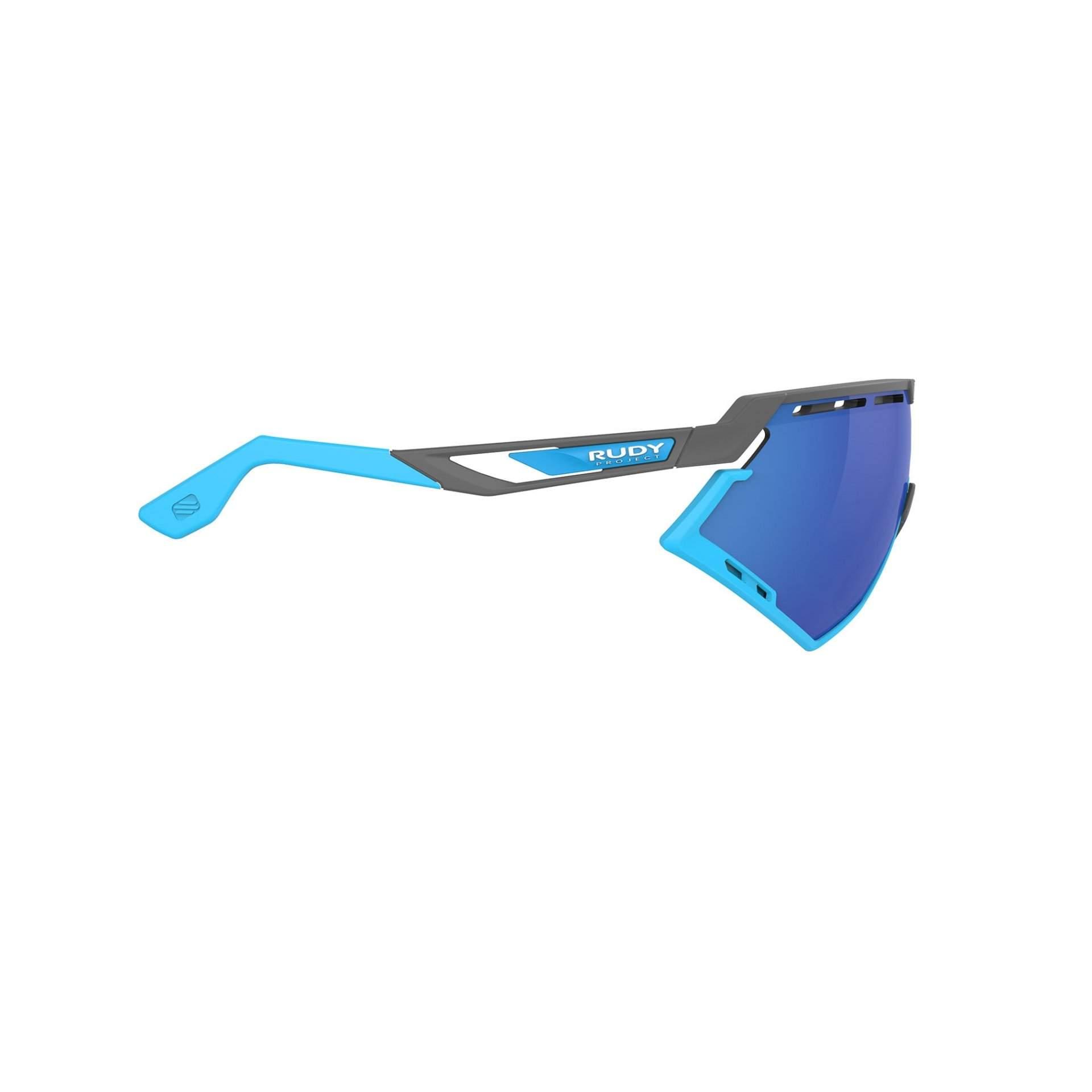 OKULARY RUDY PROJECT DEFENDER MULTILASER BLUE + GGREY BUMPERS AZUR SP5239750002 Z BOKU