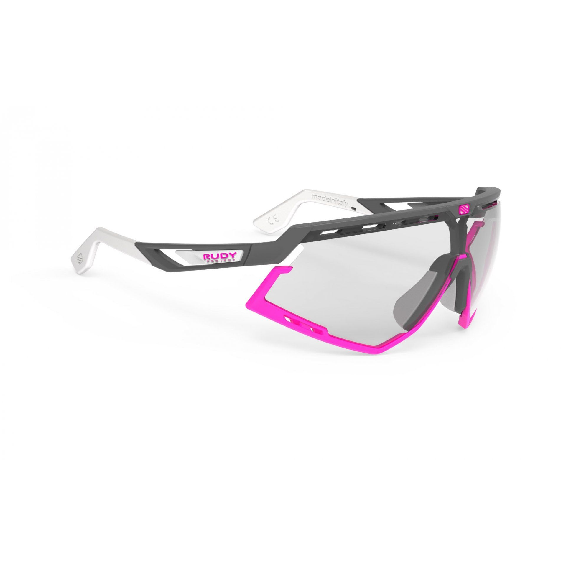 OKULARY RUDY PROJECT DEFENDER PYOMBO MATTE|FUXIA+PHOTOCHROMIC BLACK 1