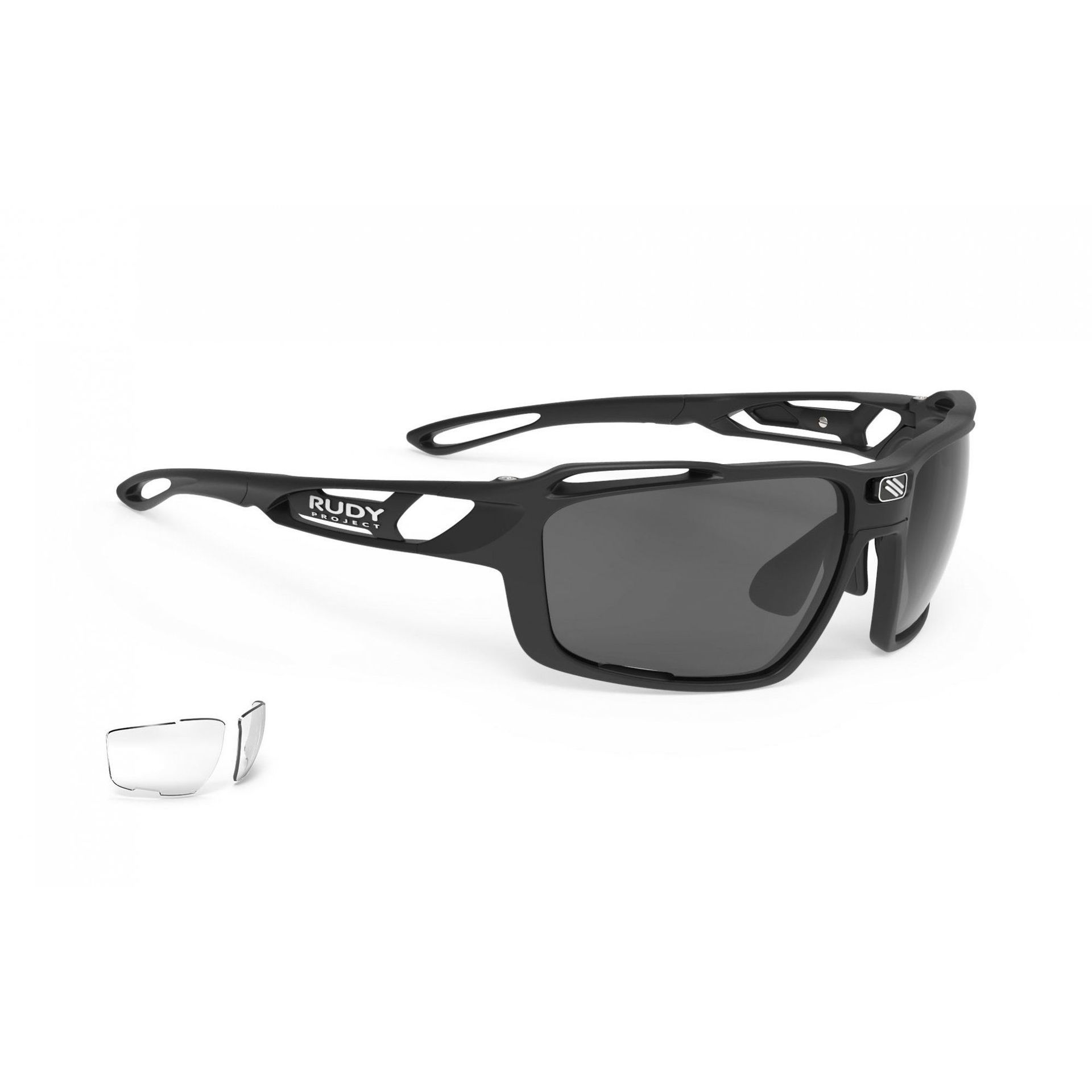 OKULARY RUDY PROJECT SINTRYX BLACK + SMOKE|TRANS SP491006 1
